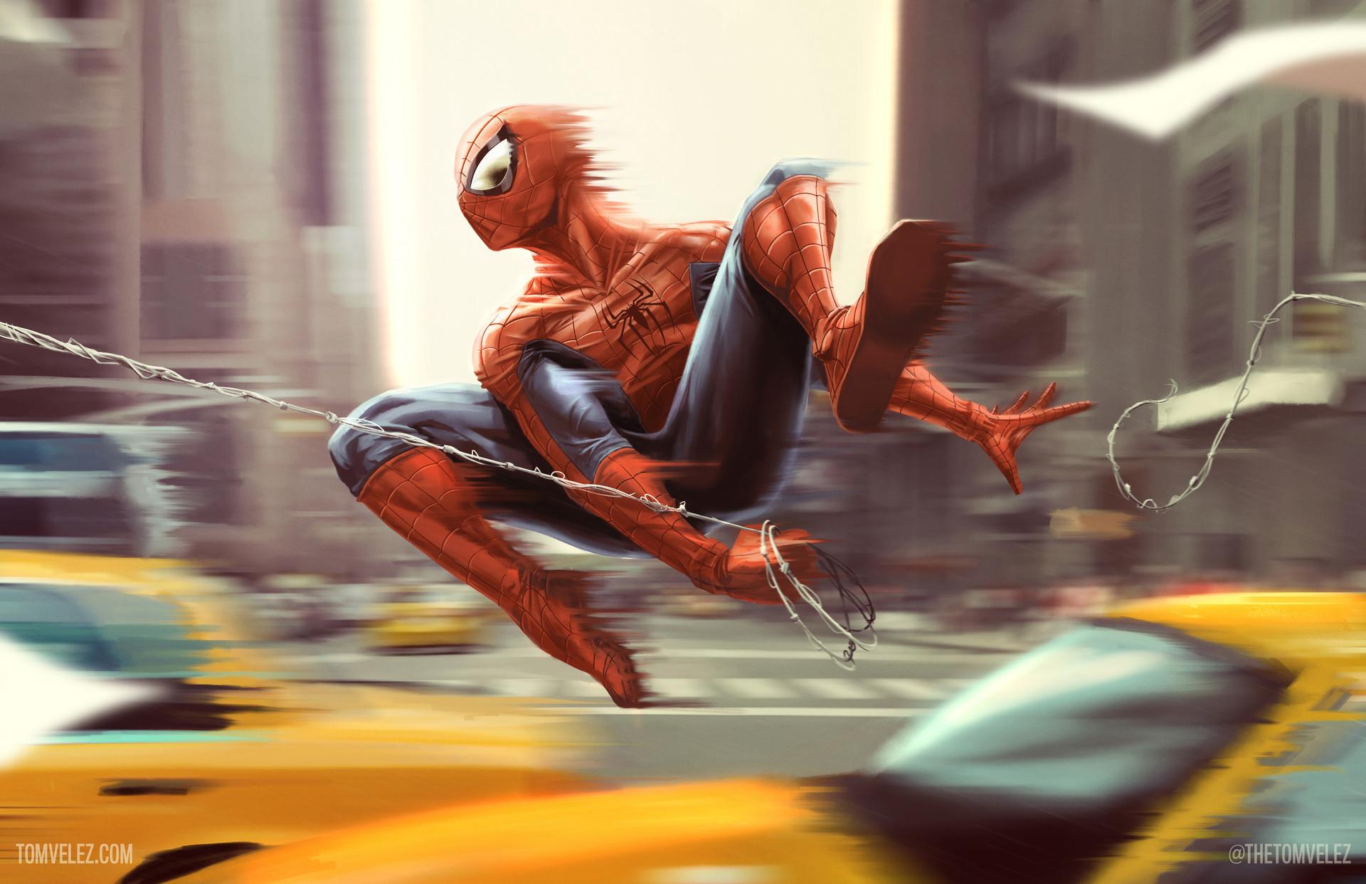 Wallpaper Spider Man 2099 Fan Art 4k Creative Graphics: Spiderman Fan Art, HD Superheroes, 4k Wallpapers, Images