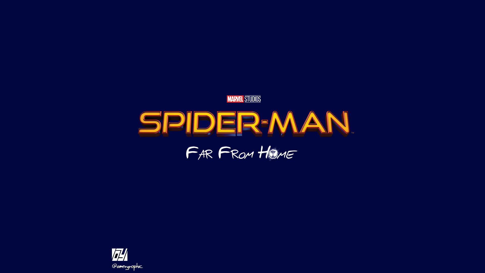 Spiderman Far From Home Movie Logo Hd Movies 4k Wallpapers Images