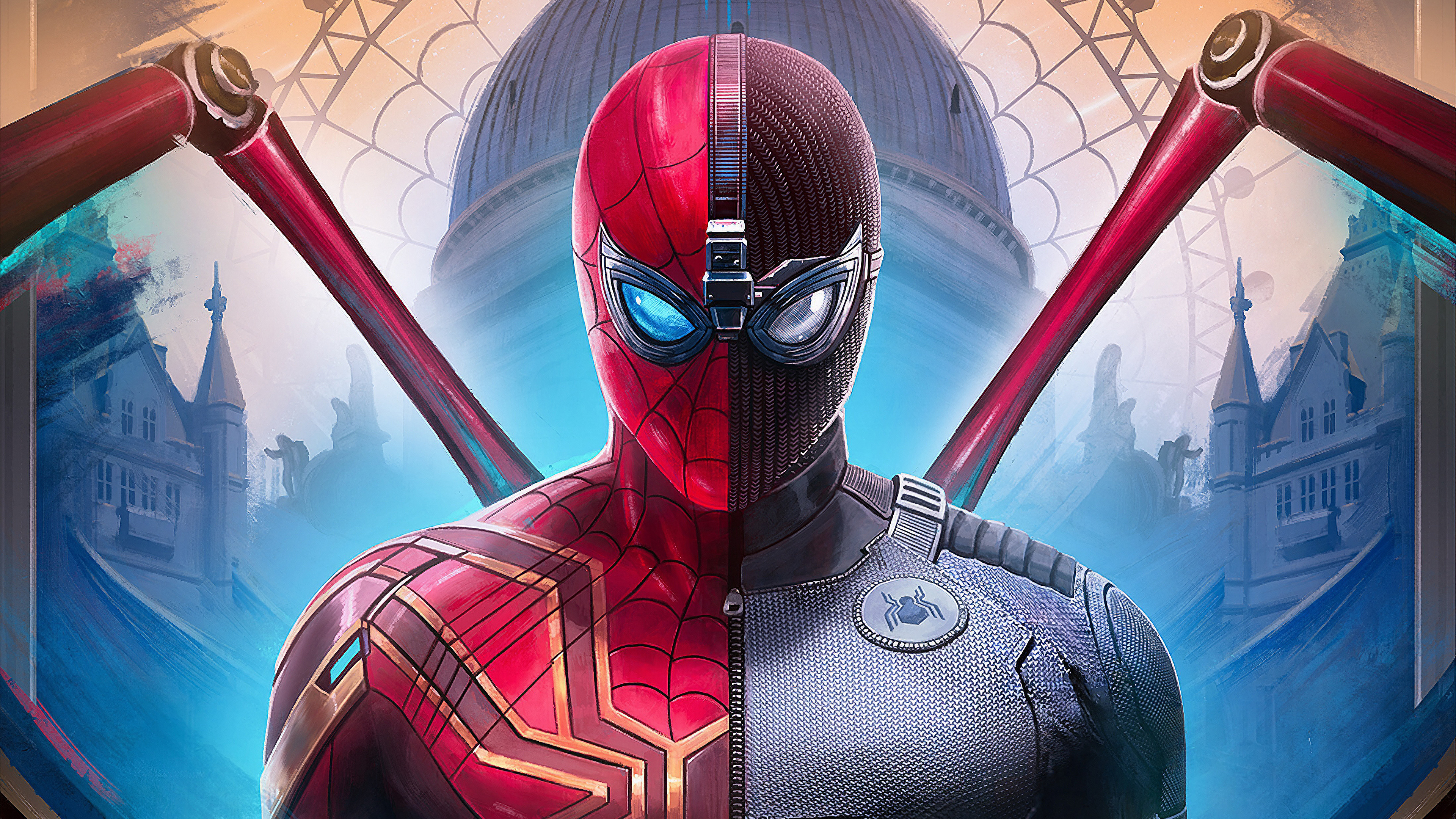 Spiderman Far From Home Suit, HD Superheroes, 4k ...