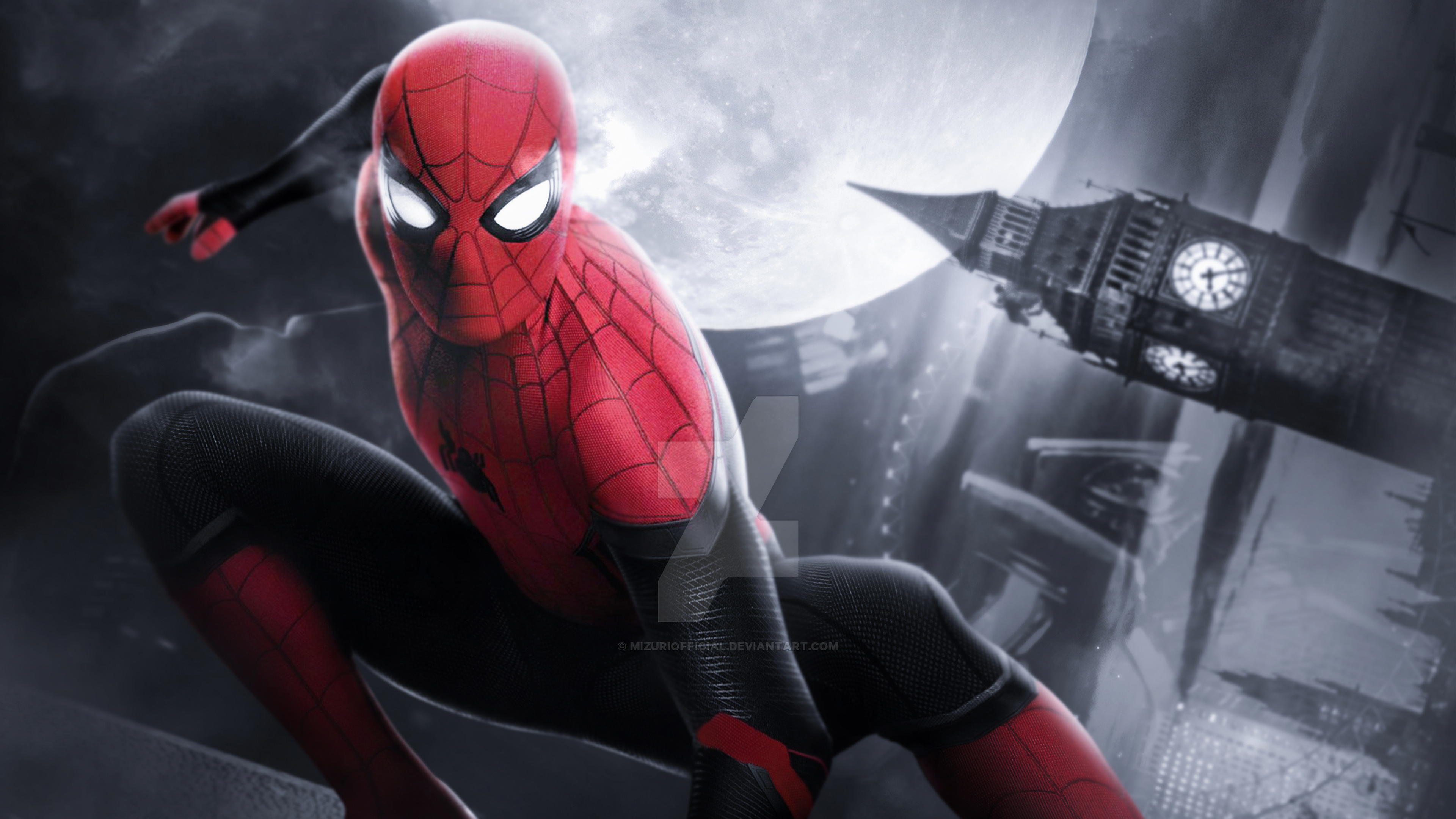 Spiderman Far Fromhome Hd Superheroes 4k Wallpapers