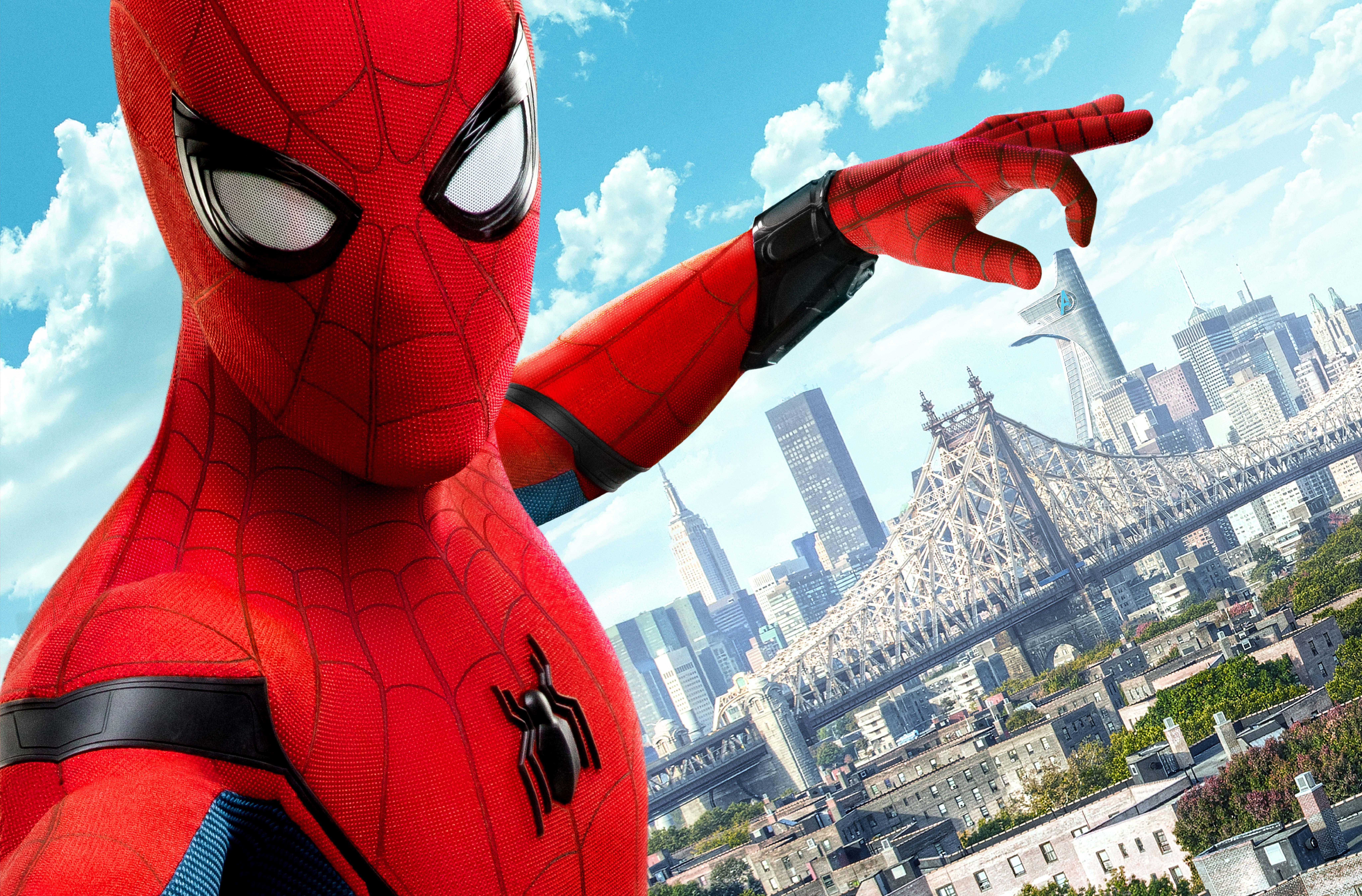 2048x1152 spiderman homecoming 2017 8k 2048x1152 for Fondos de spiderman