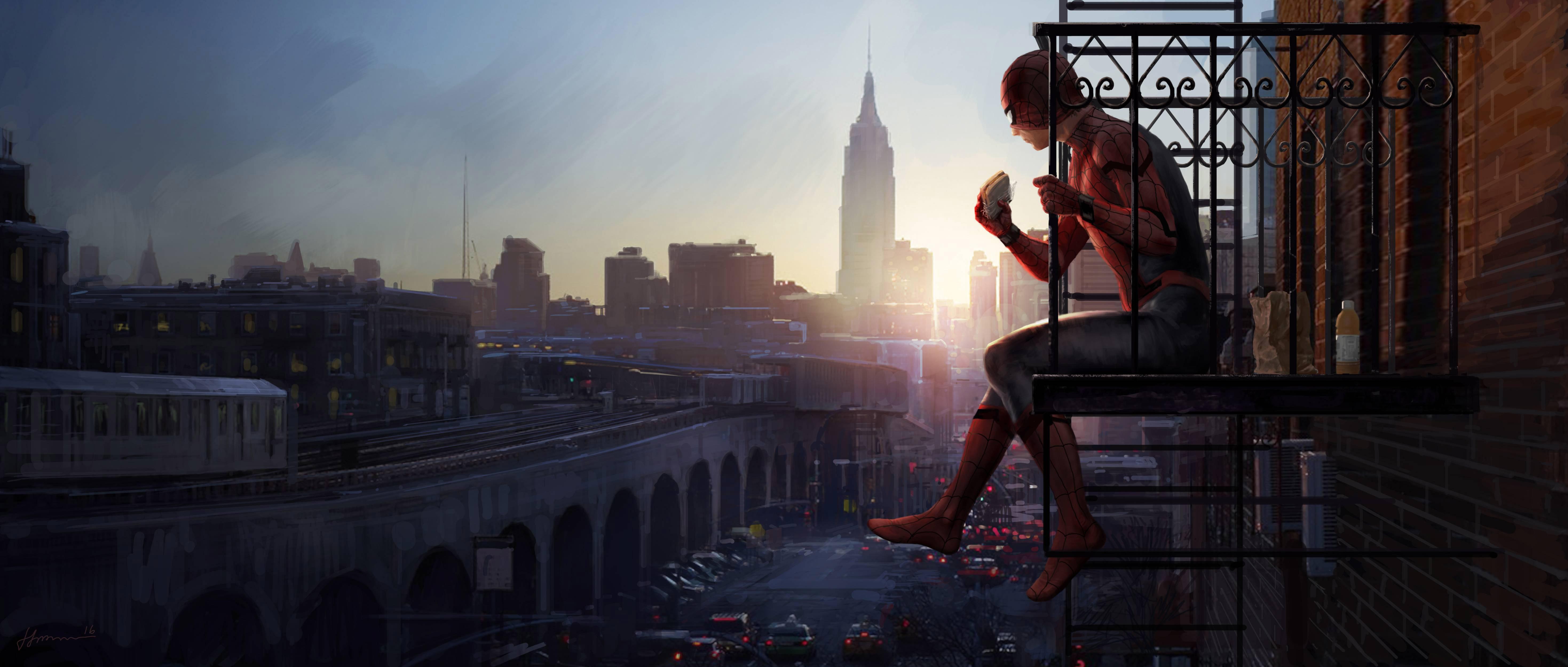 Spider Man Shattered Dimensions 4k Hd Desktop Wallpaper: Spiderman Homecoming Artwork 5k, HD Movies, 4k Wallpapers