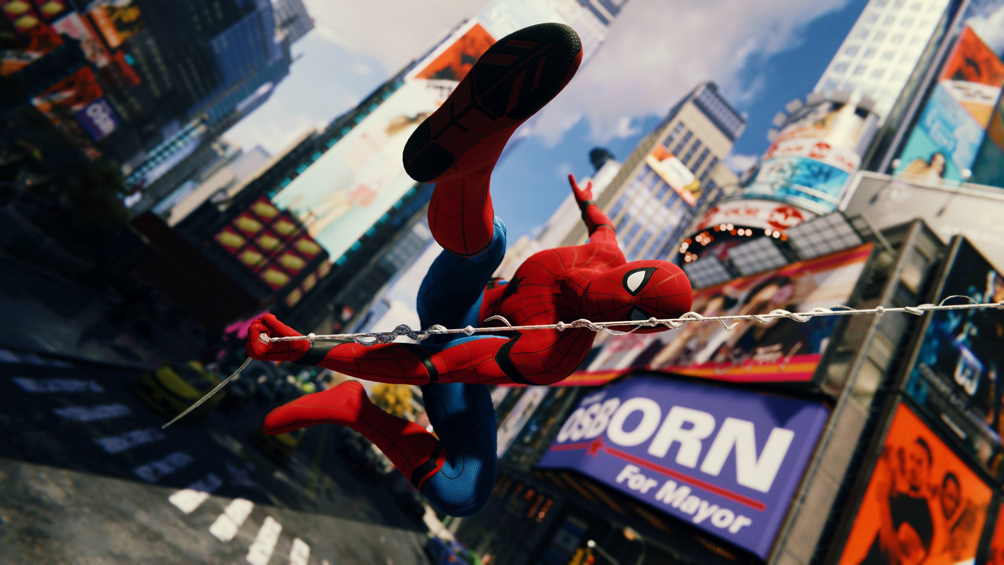 Spiderman Homecoming Spider Suit 4k, HD Superheroes, 4k