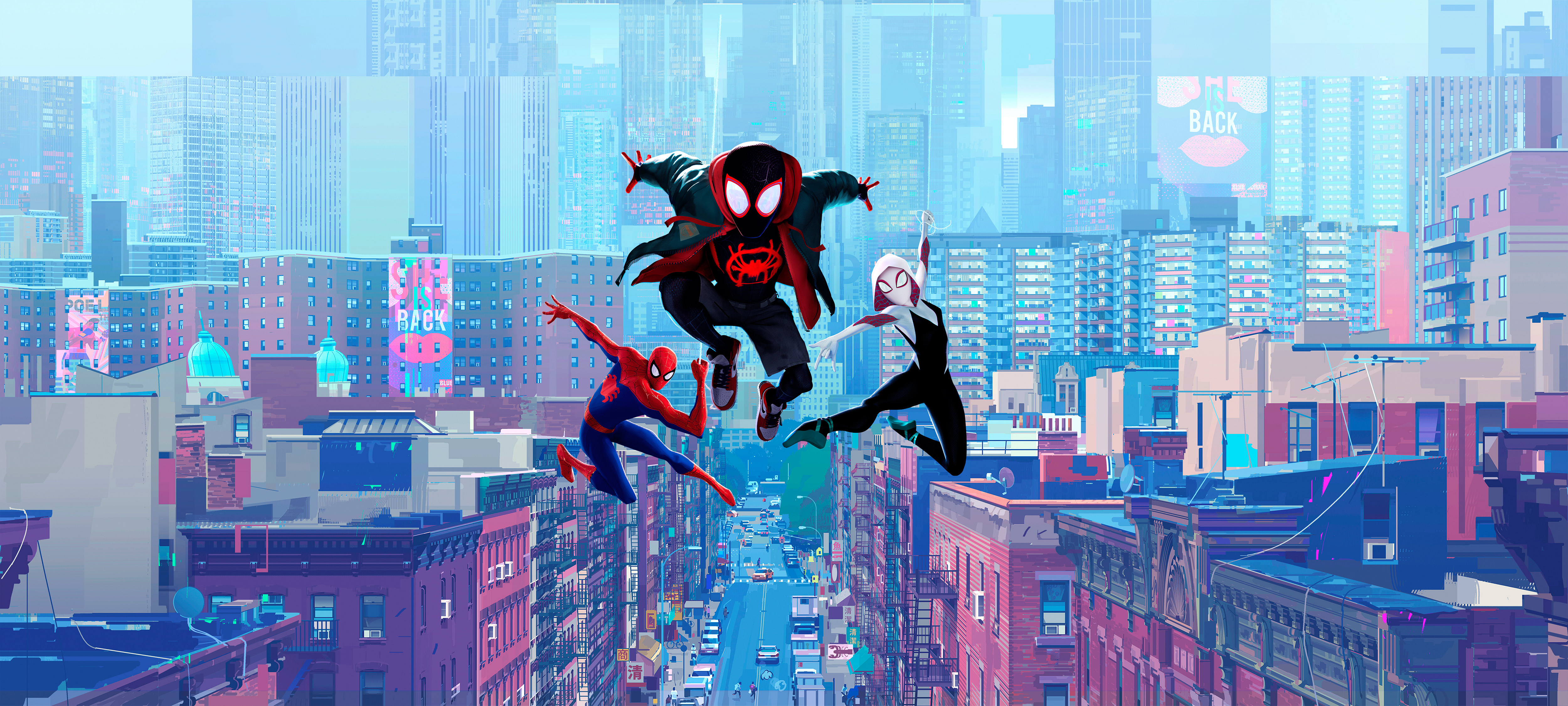 Into The Spider Verse X Wallpaper Iwallpaper: Spiderman Into Spider Verse 5k, HD Movies, 4k Wallpapers