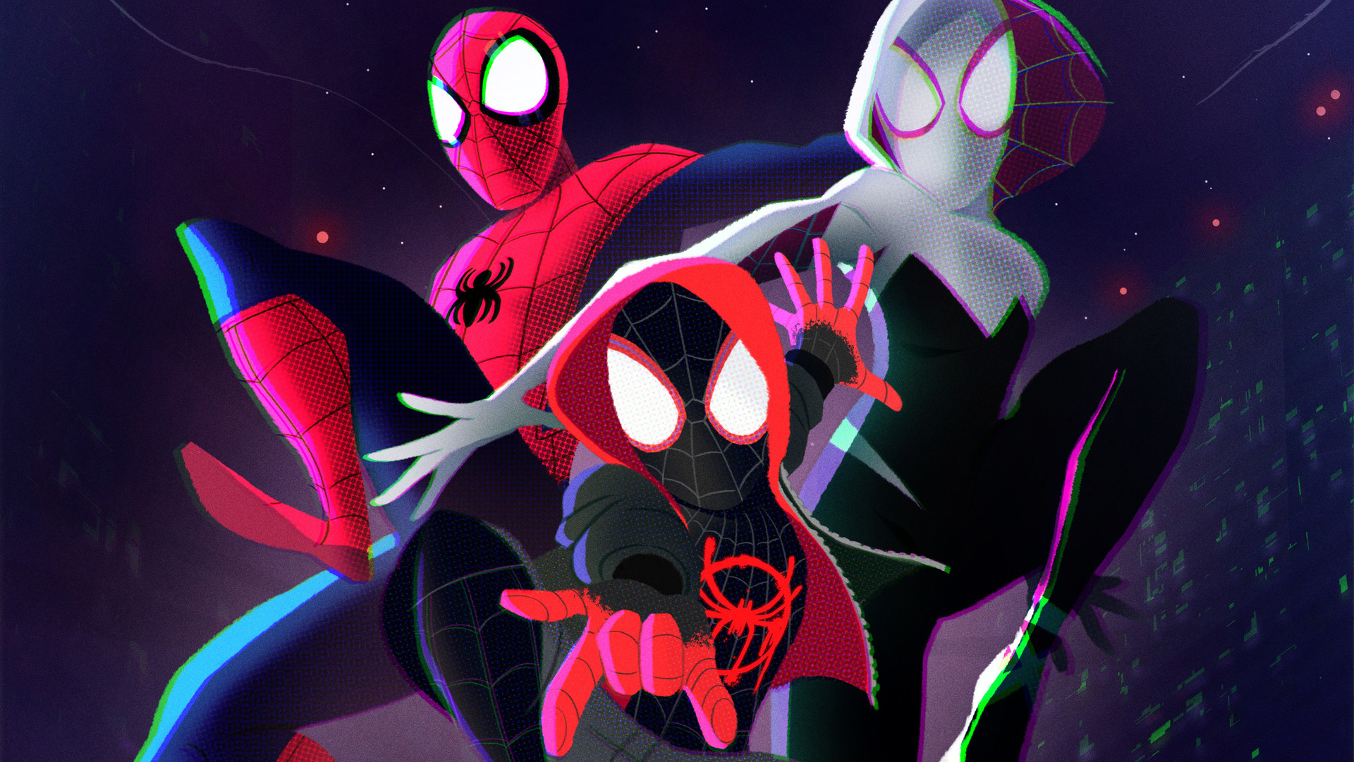 SpiderMan Into The Spider Verse 2018 Art, HD Movies, 4k Wallpapers, Images, Backgrounds, Photos