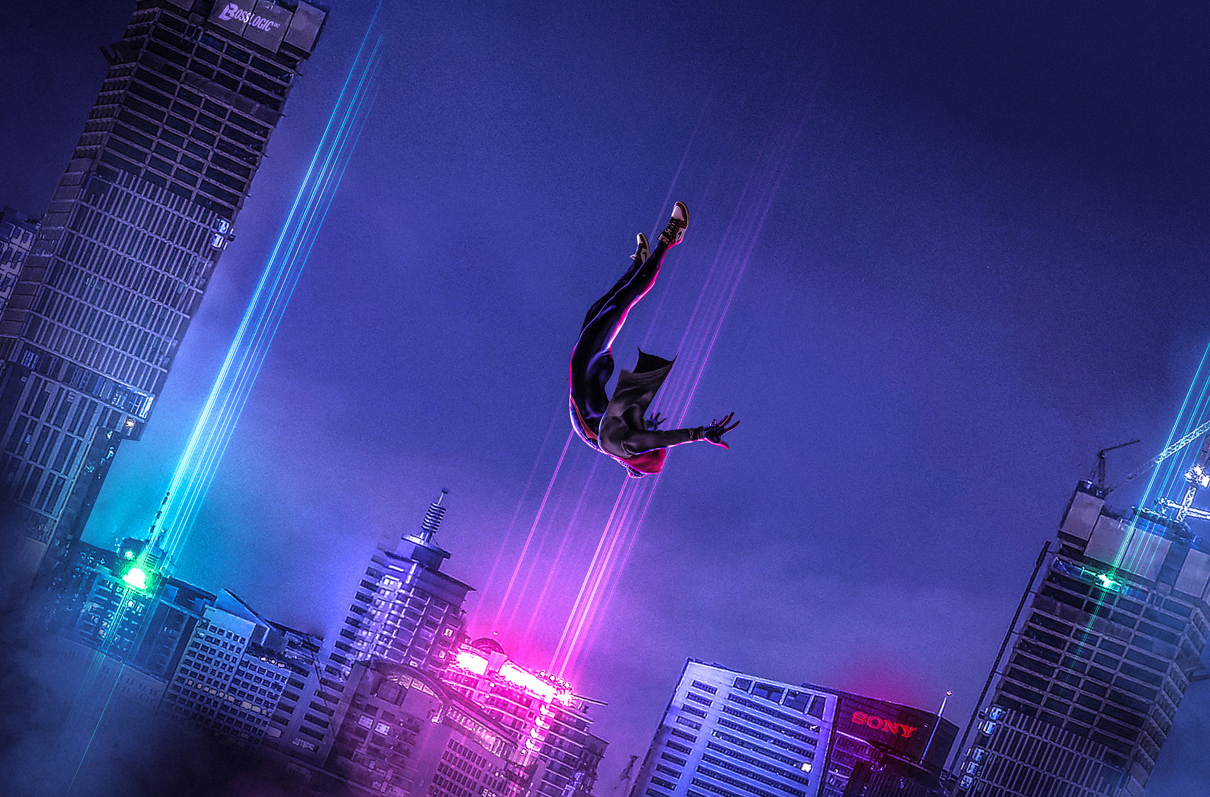 Spiderman Into The Spider Verse Art Hd Movies 4k Wallpapers