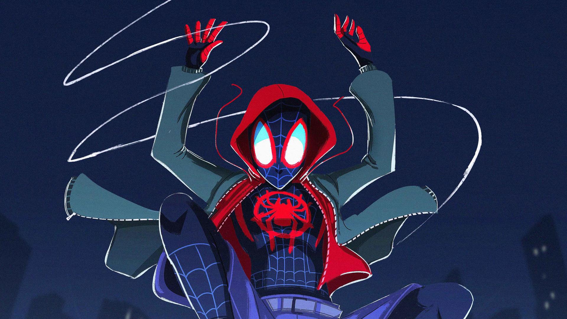 SpiderMan Into The Spider Verse Artwork, HD Movies, 4k ...