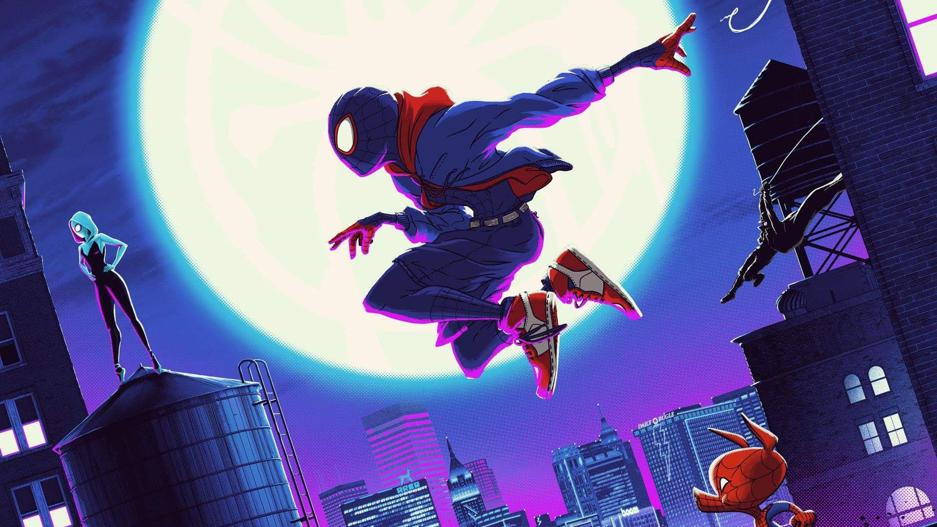SpiderMan Into The Spider Verse Cool Art, HD Superheroes ...