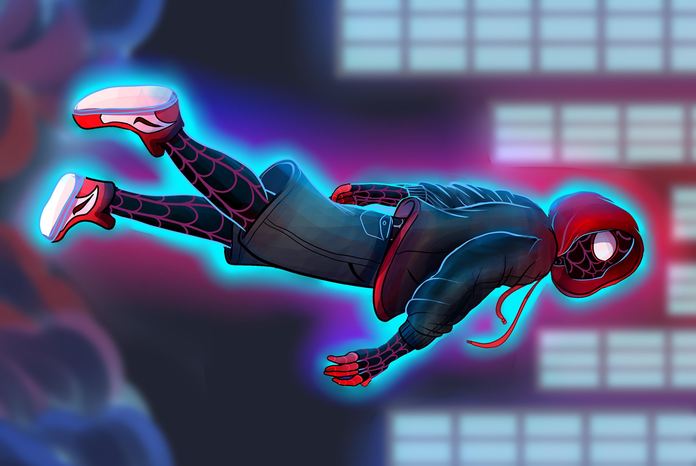 SpiderMan Into The Spider Verse Fan Art, HD Games, 4k ...