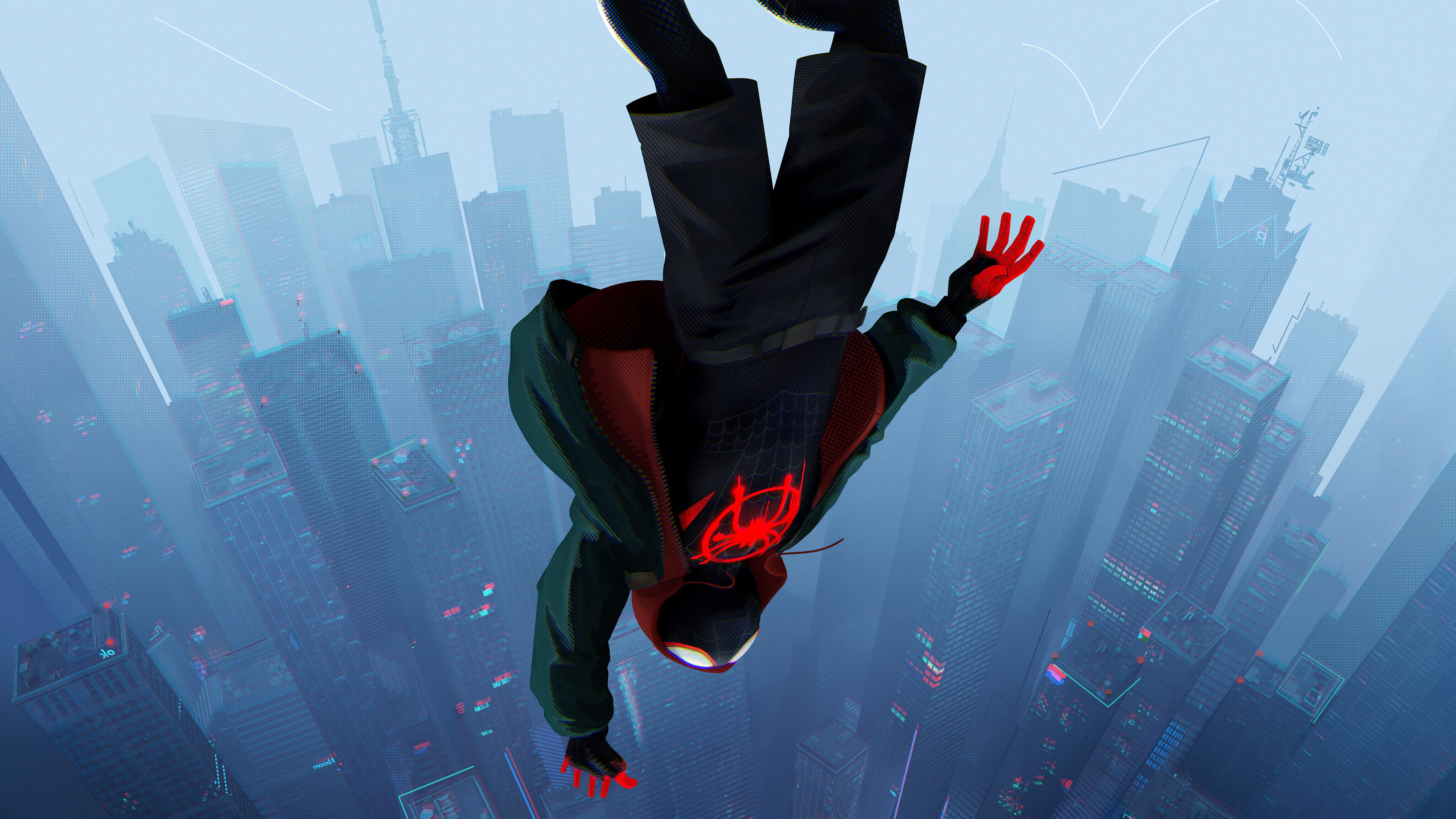 SpiderMan Into The Spider Verse Movie 2018 8k, HD Movies ...