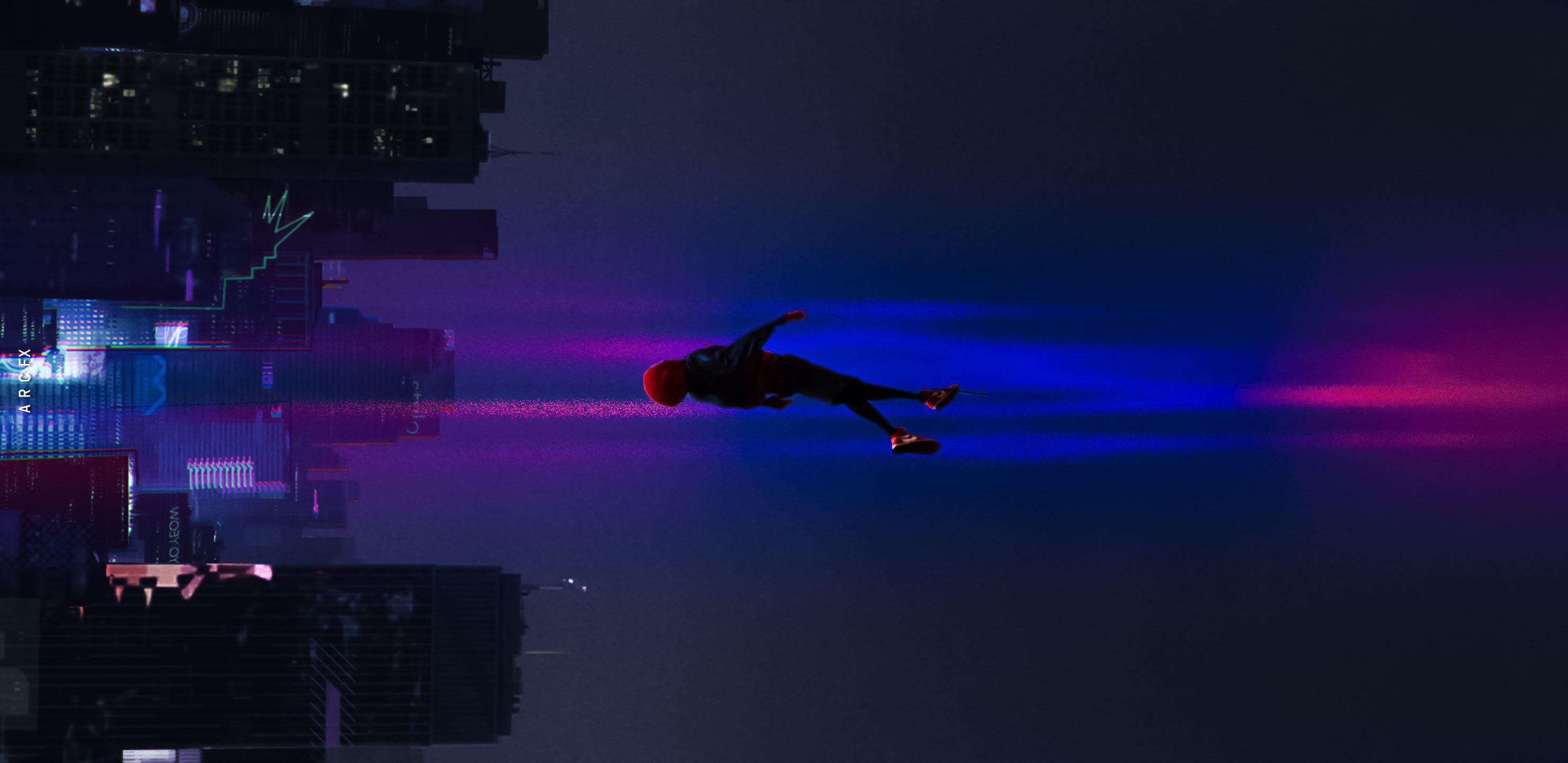 SpiderMan Into The Spider Verse Movie 2018 Art, HD Movies ...