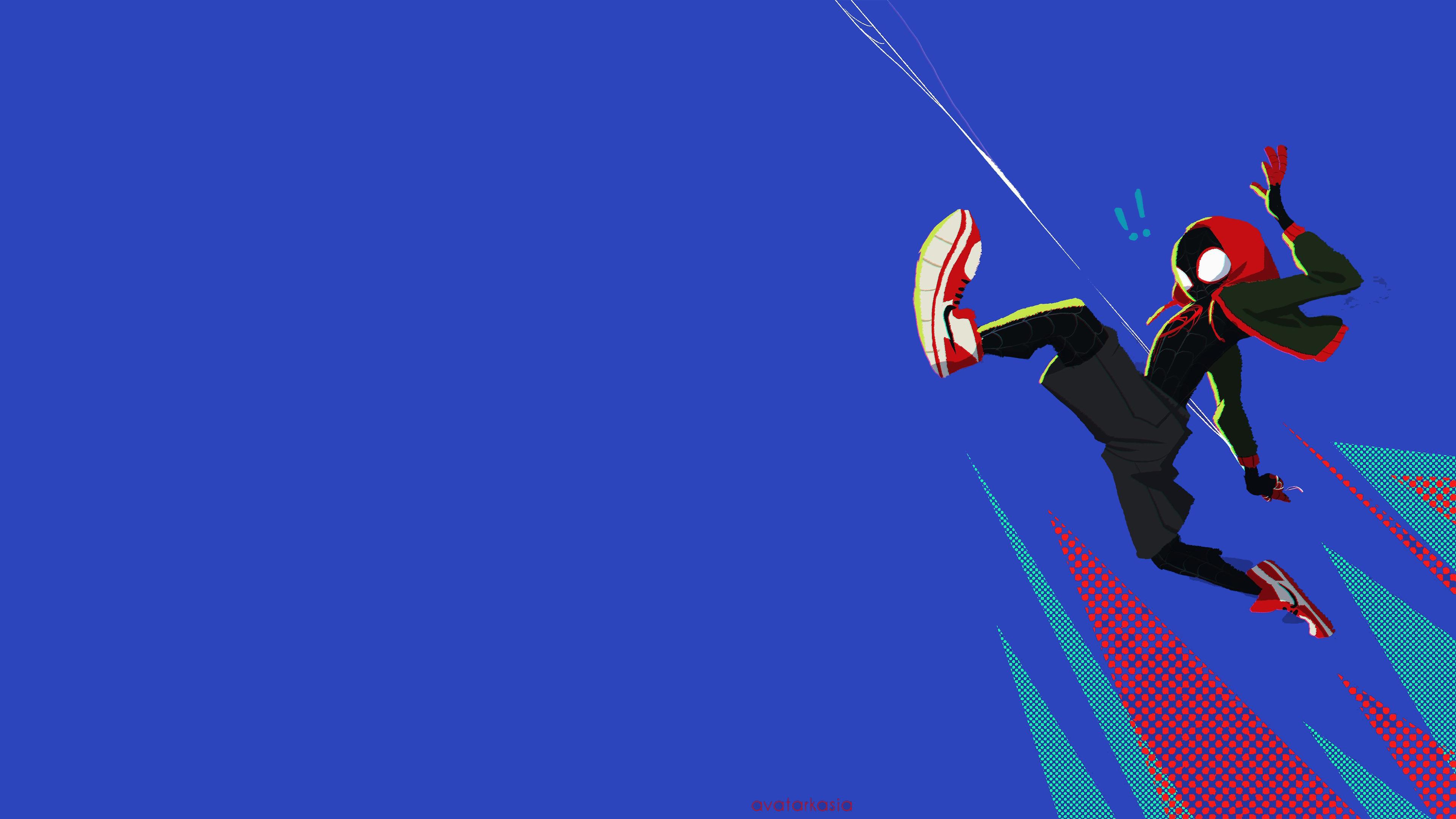SpiderMan Into The Spider Verse Movie 4k 2018 Art, HD