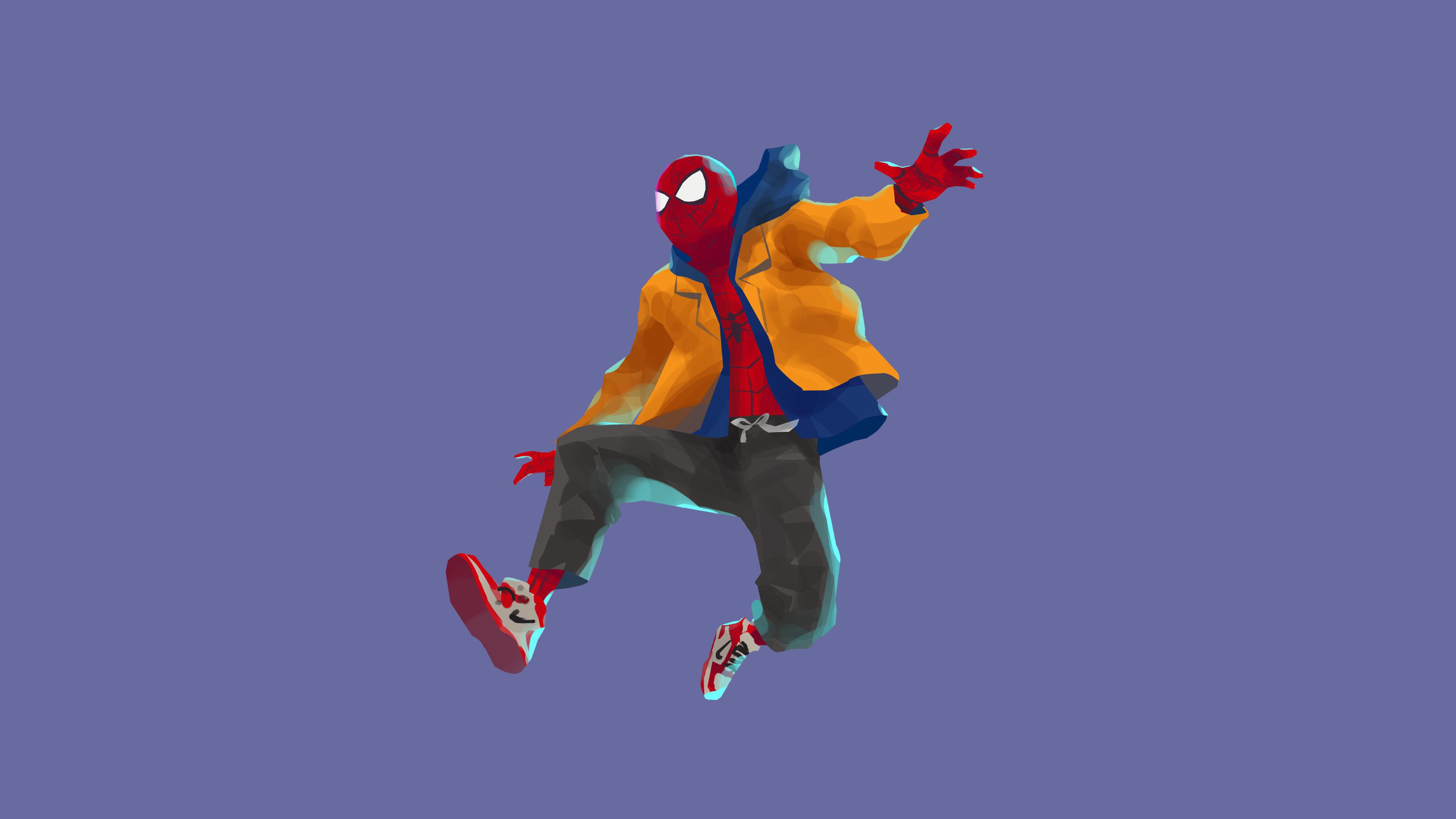 SpiderMan Into The Spider Verse Movie 4k Artwork, HD ...