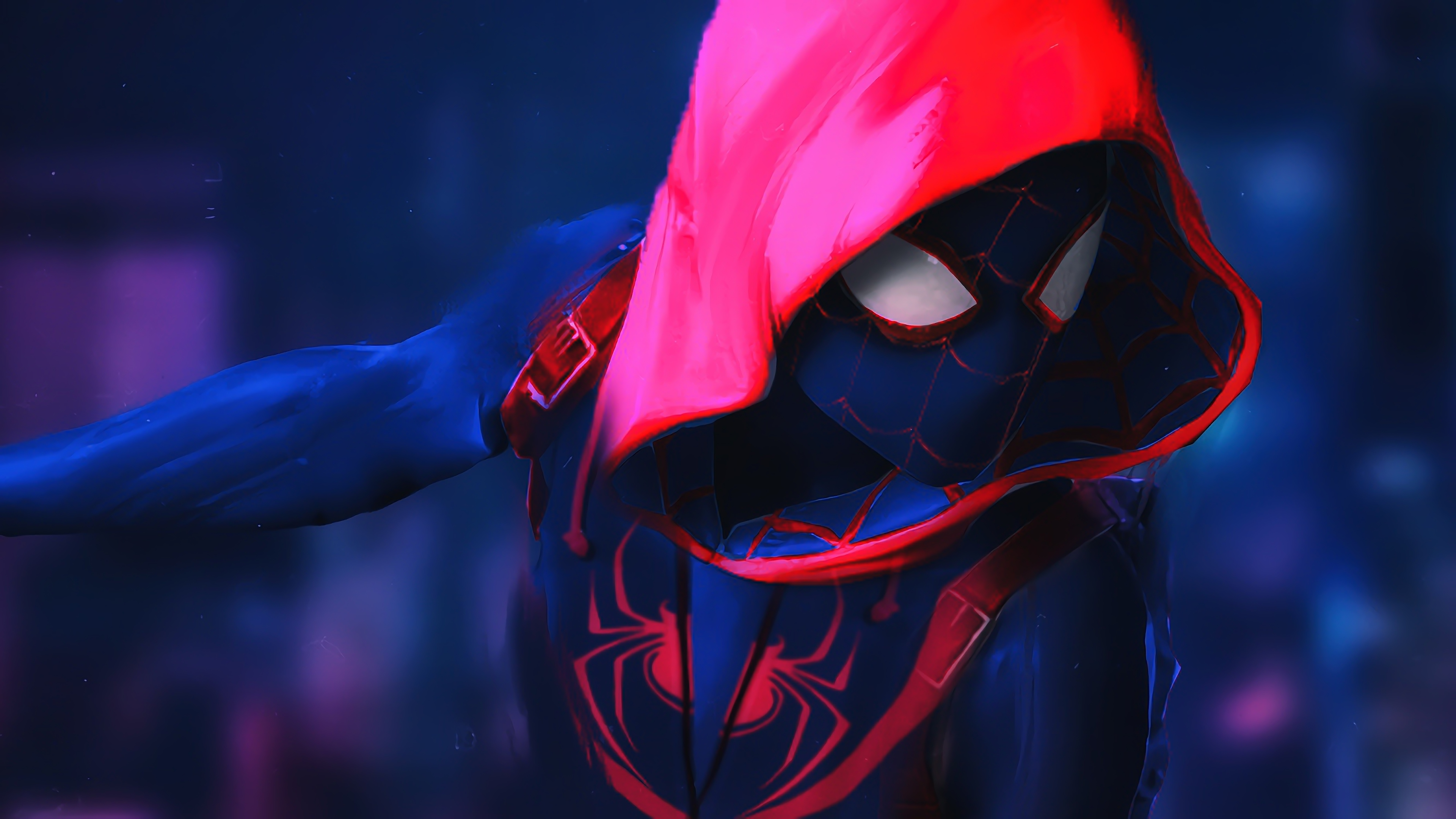 1920x1080 SpiderMan Into The Spider Verse Movie 4k Movie Artwork Laptop Full HD 1080P HD 4k