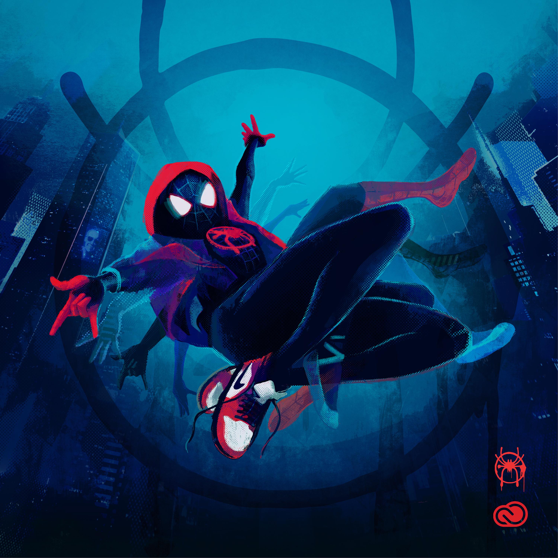 SpiderMan Into The Spider Verse New Artwork, HD ...