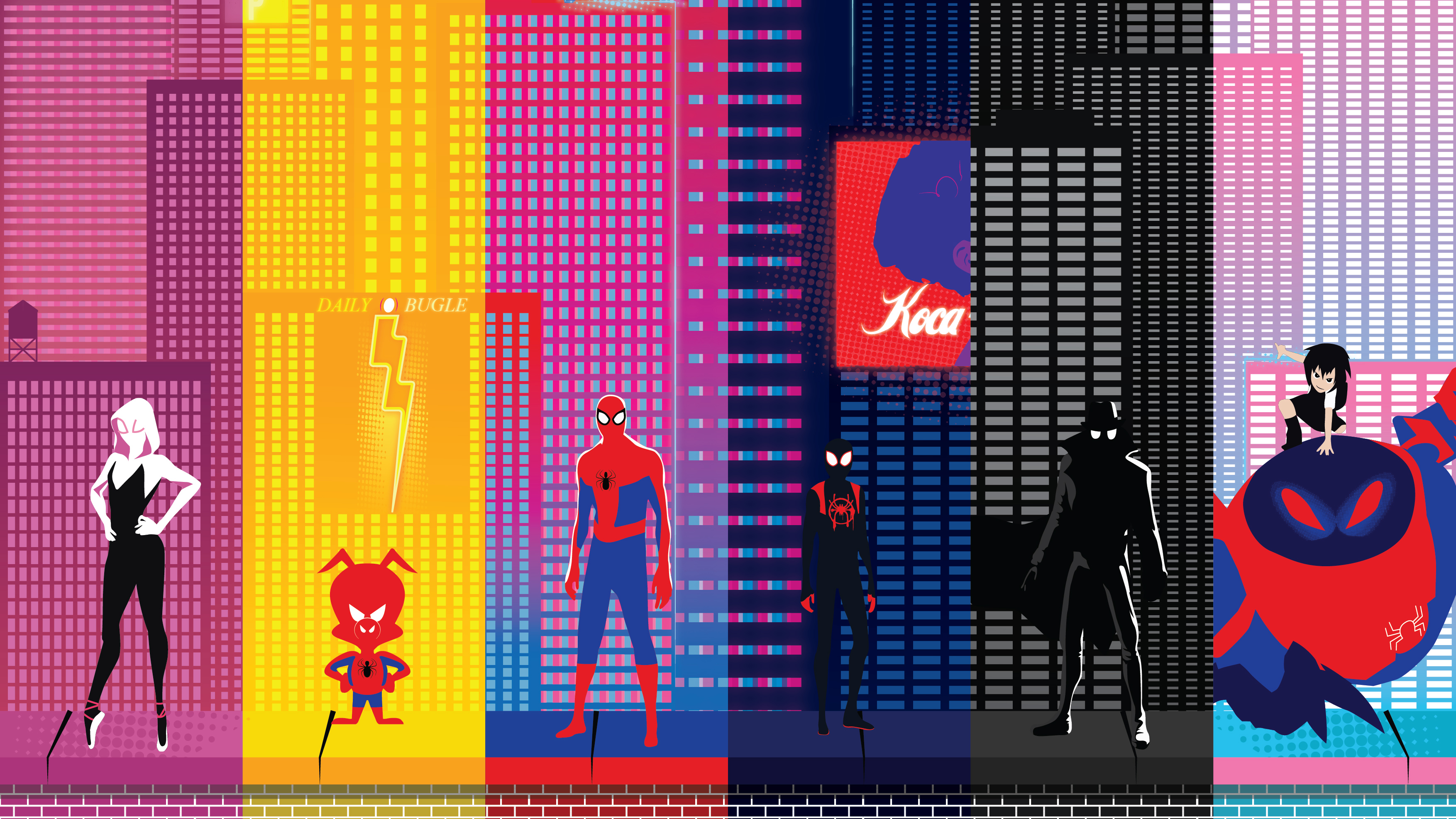 SpiderMan Into The Spider Verse New Poster 2019, HD Movies ...