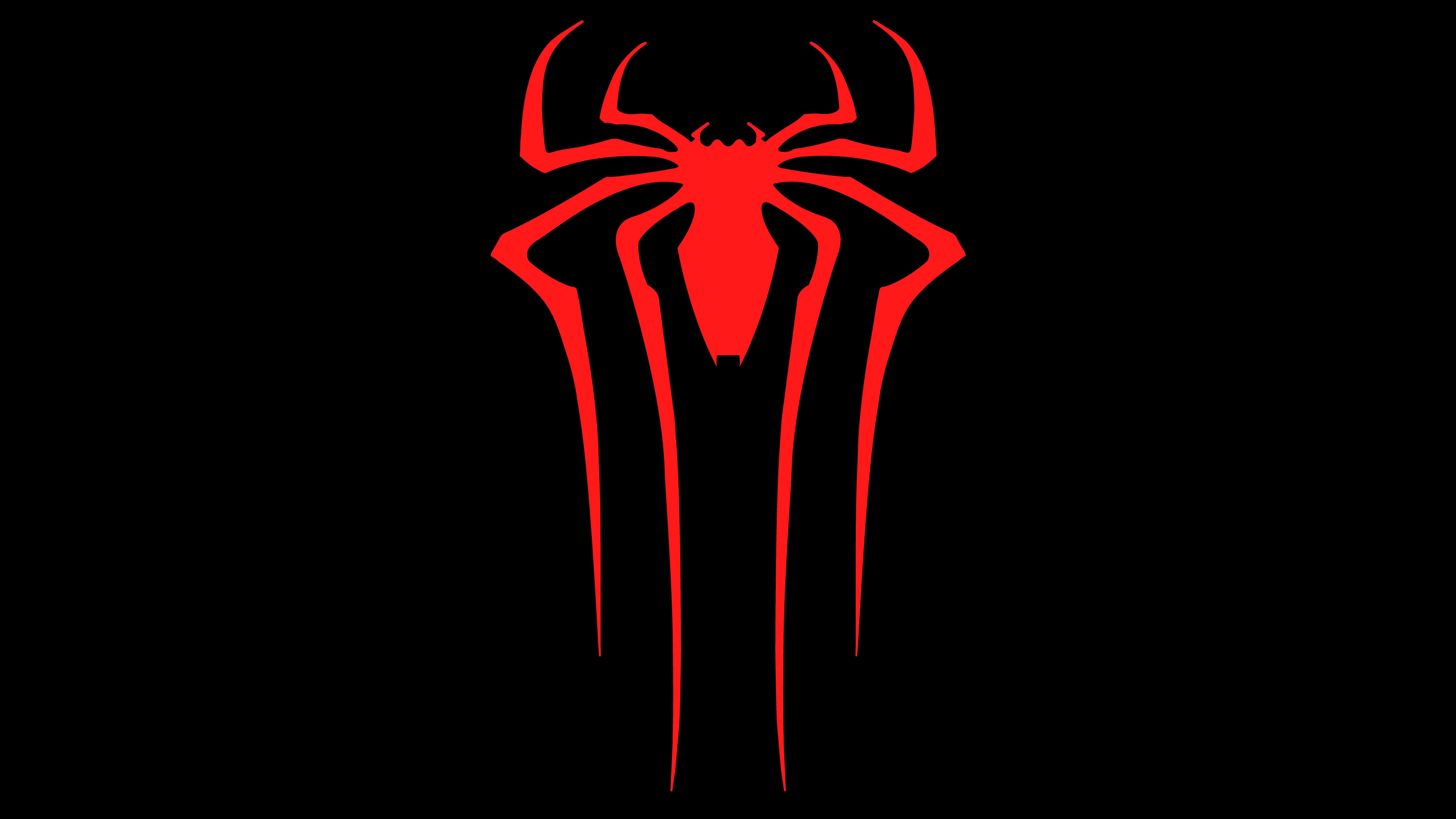 2048x2048 Spiderman Logo 8k Ipad Air Hd 4k Wallpapers
