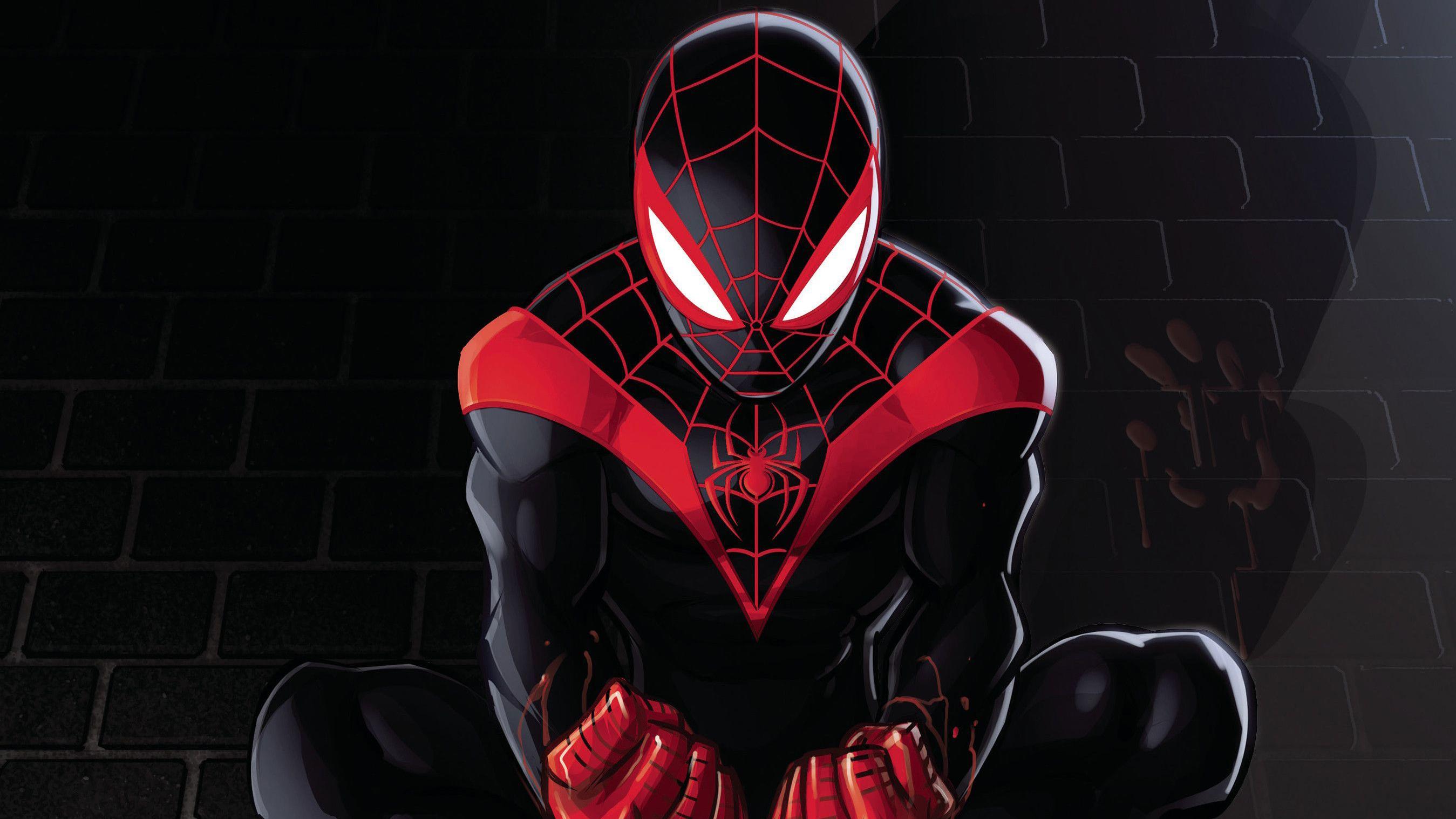 1920x1080 Spiderman Miles Morales Artwork 2018 Laptop Full ...