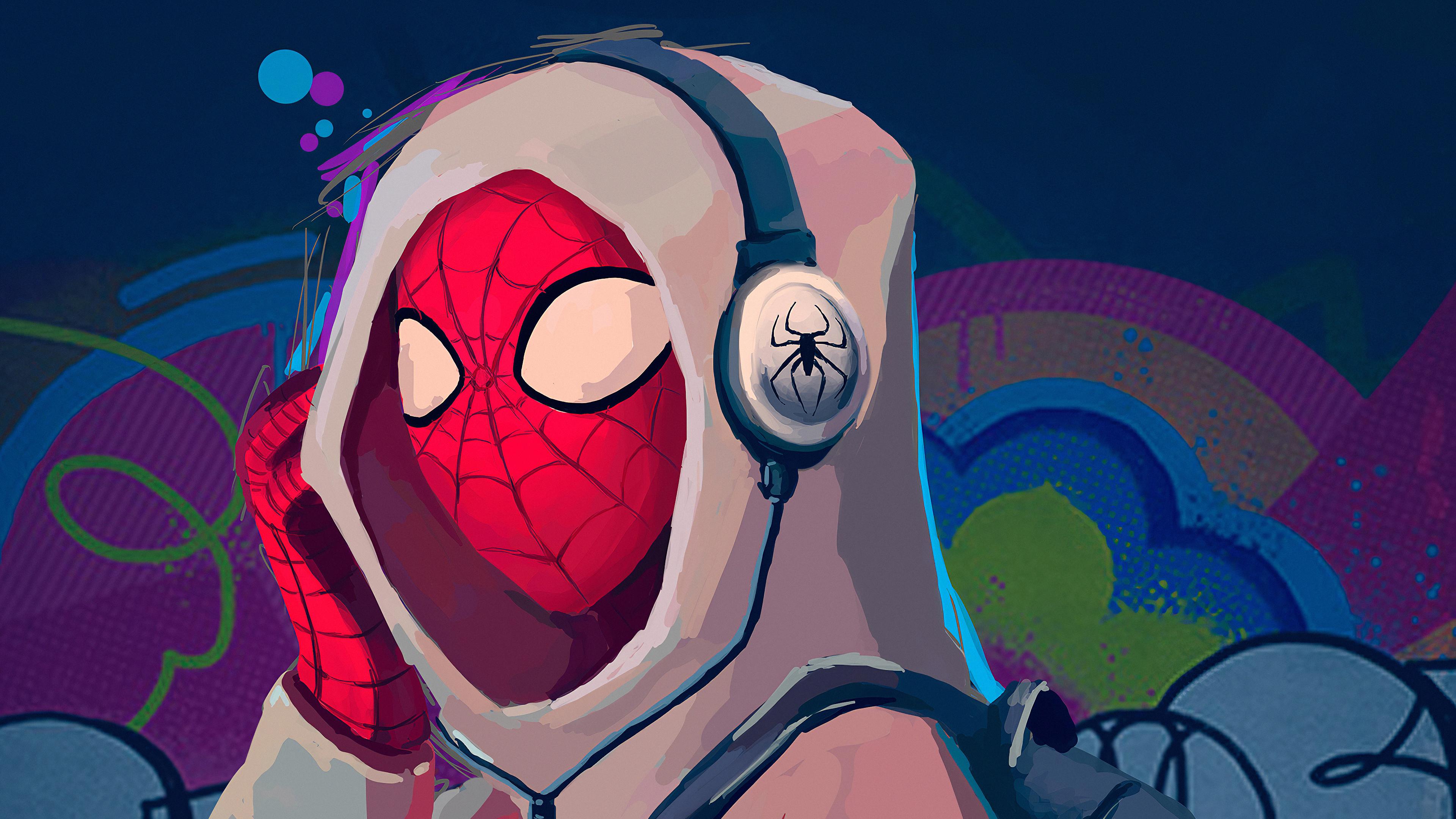 Spiderman Music 4k Hd Superheroes 4k Wallpapers Images