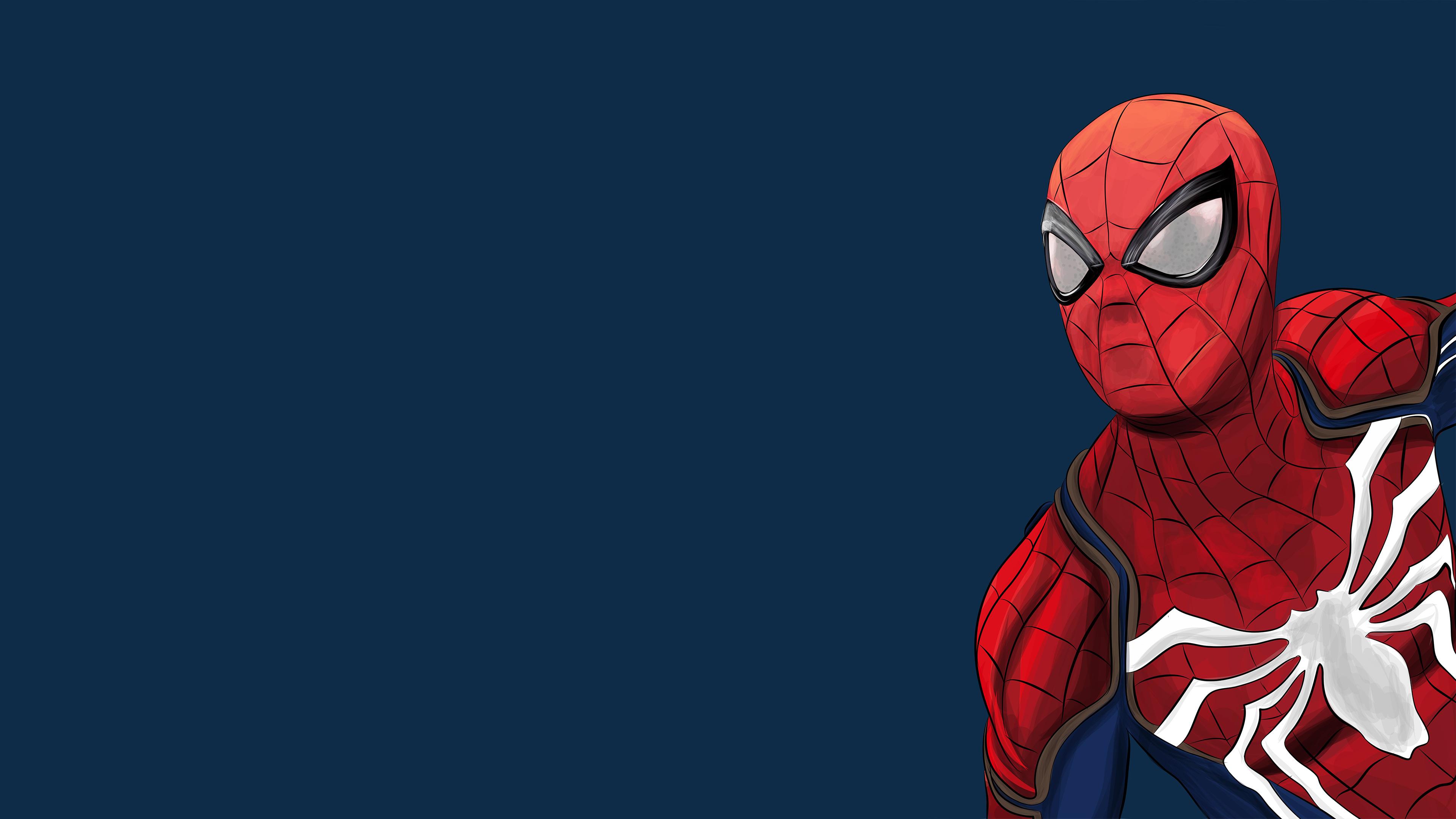 Spiderman Ps4 Artwork 4k 2018, HD Superheroes, 4k ...