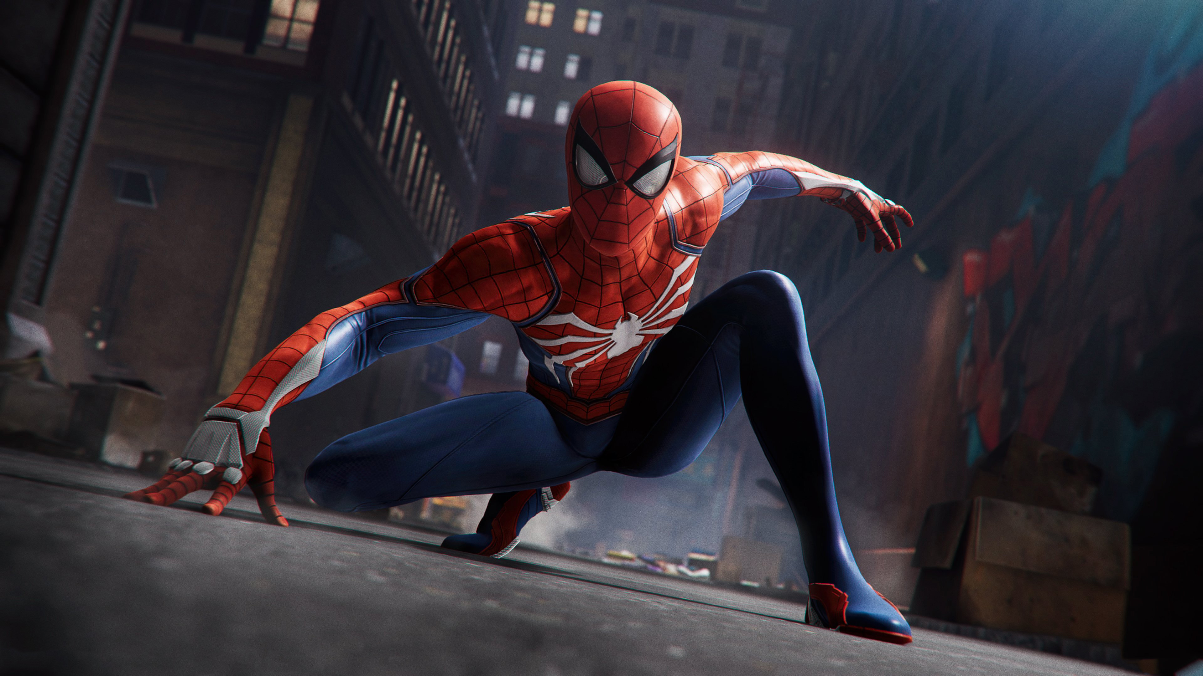 Spiderman Ps4 Pro 2018 4k, HD Games, 4k Wallpapers, Images ...
