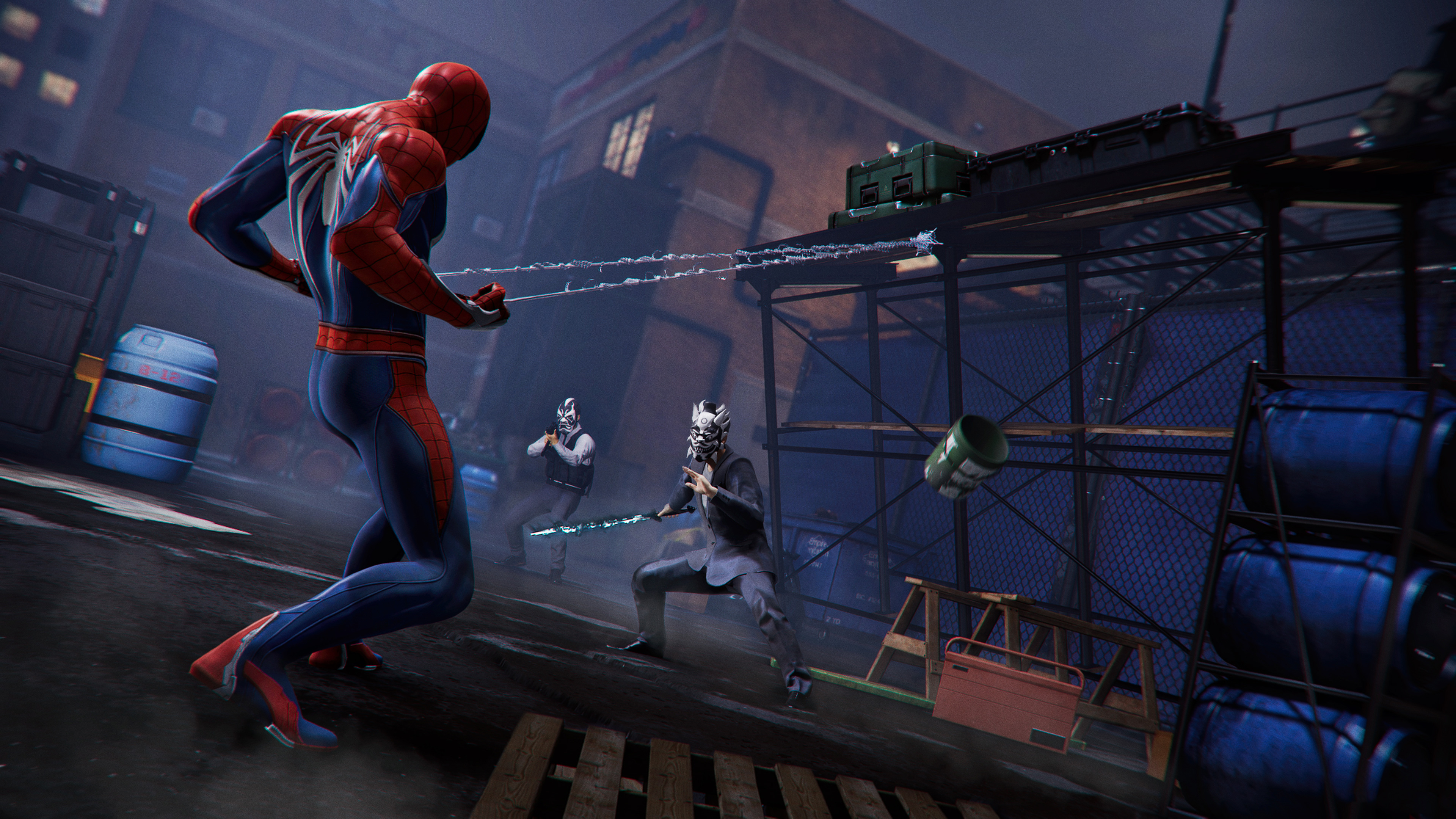 4k Gaming Wallpaper: Spiderman Ps4 Pro Gaming 4k, HD Games, 4k Wallpapers