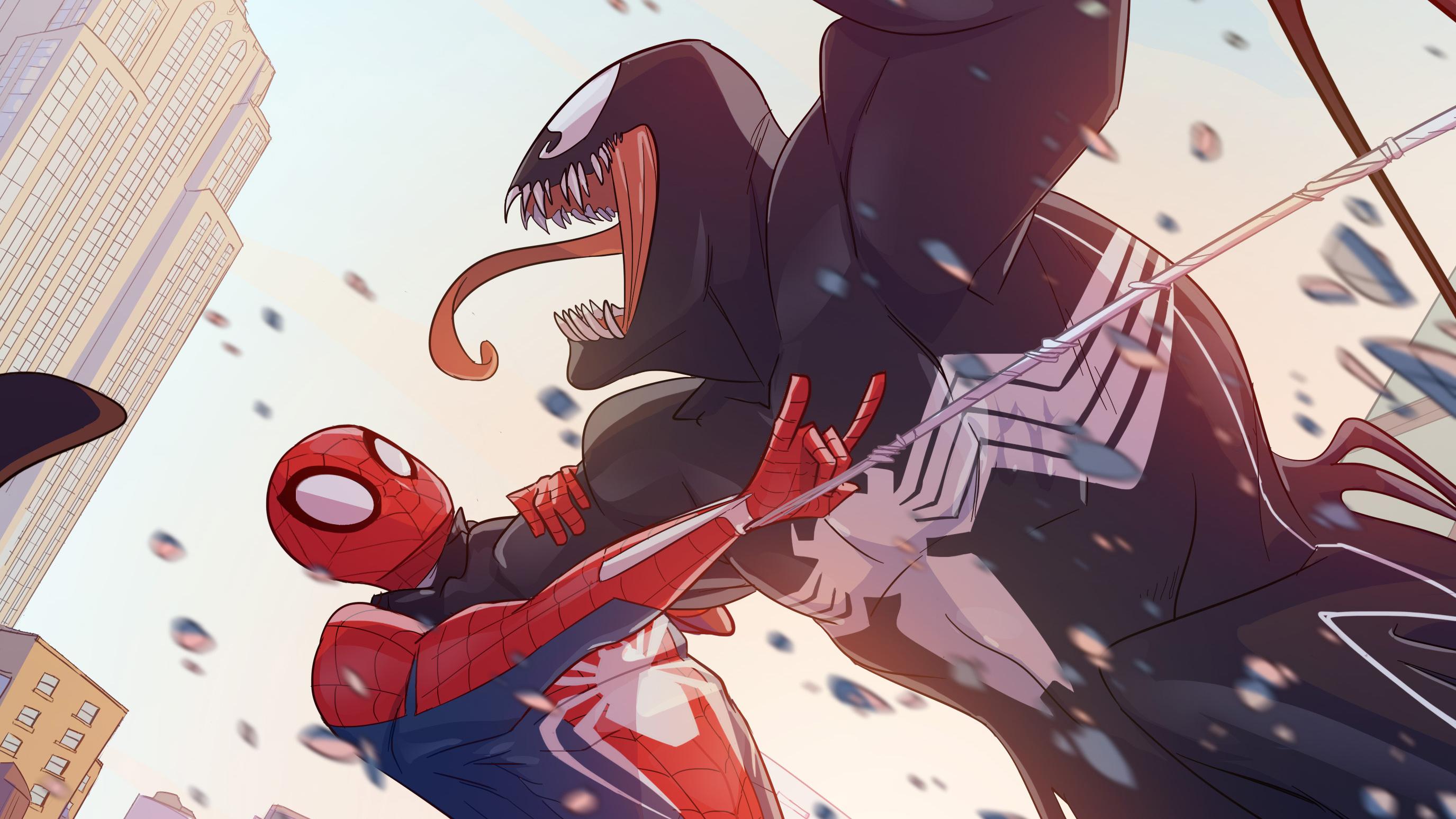 Spiderman Vs Venom 2018 Hd Superheroes 4k Wallpapers Images