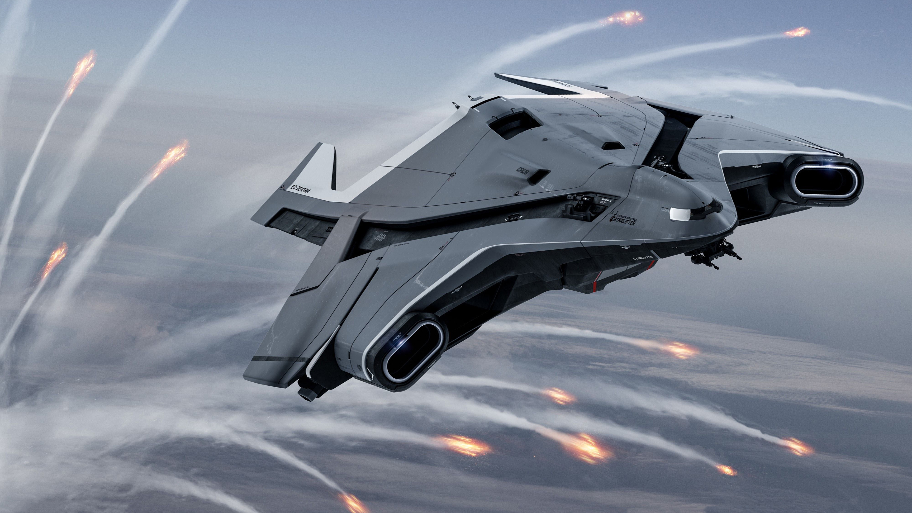 Star Citizen Spaceships 4k, HD Games, 4k Wallpapers