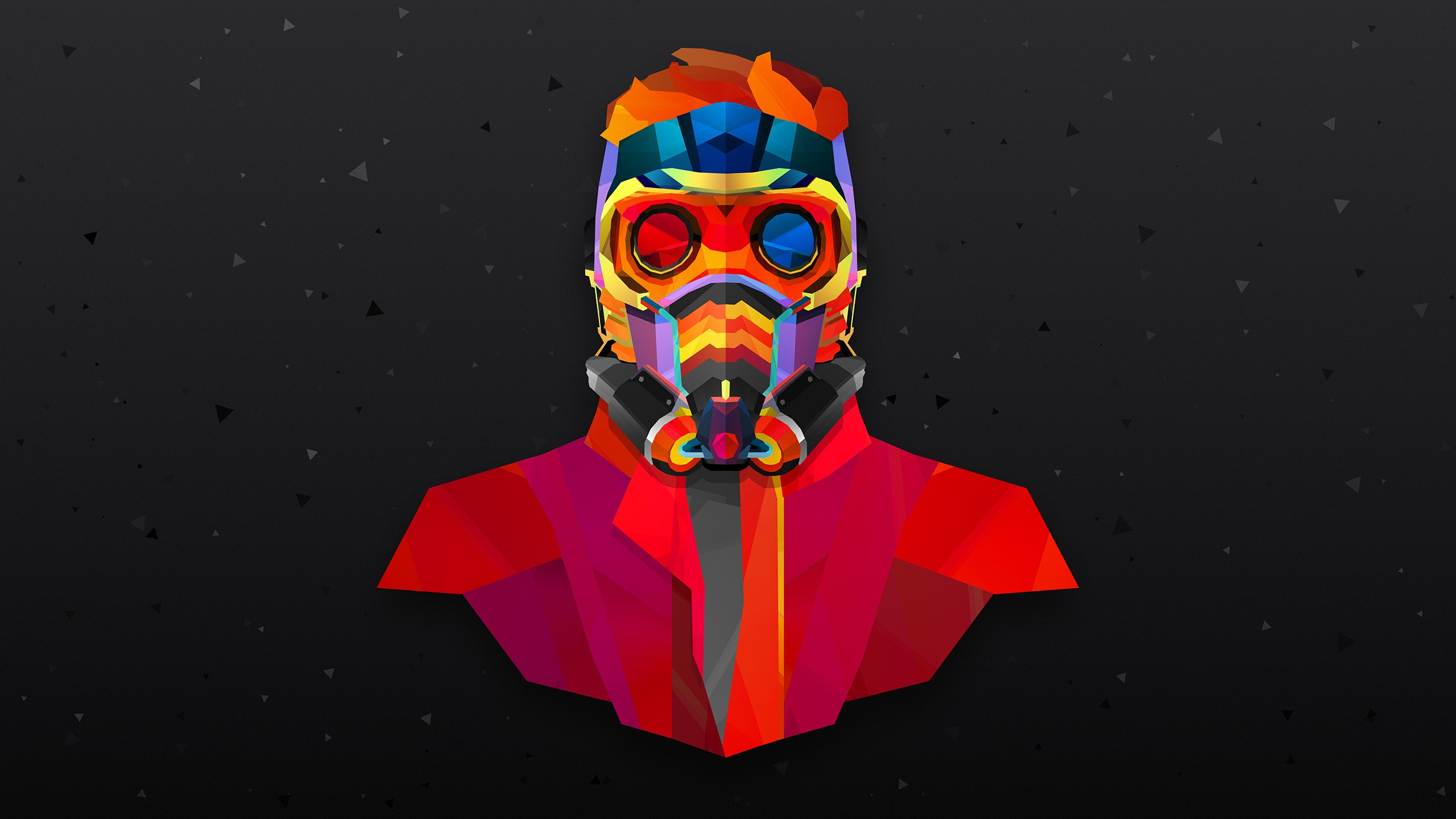 Star Lord Colorful Abstract Hd Abstract 4k Wallpapers