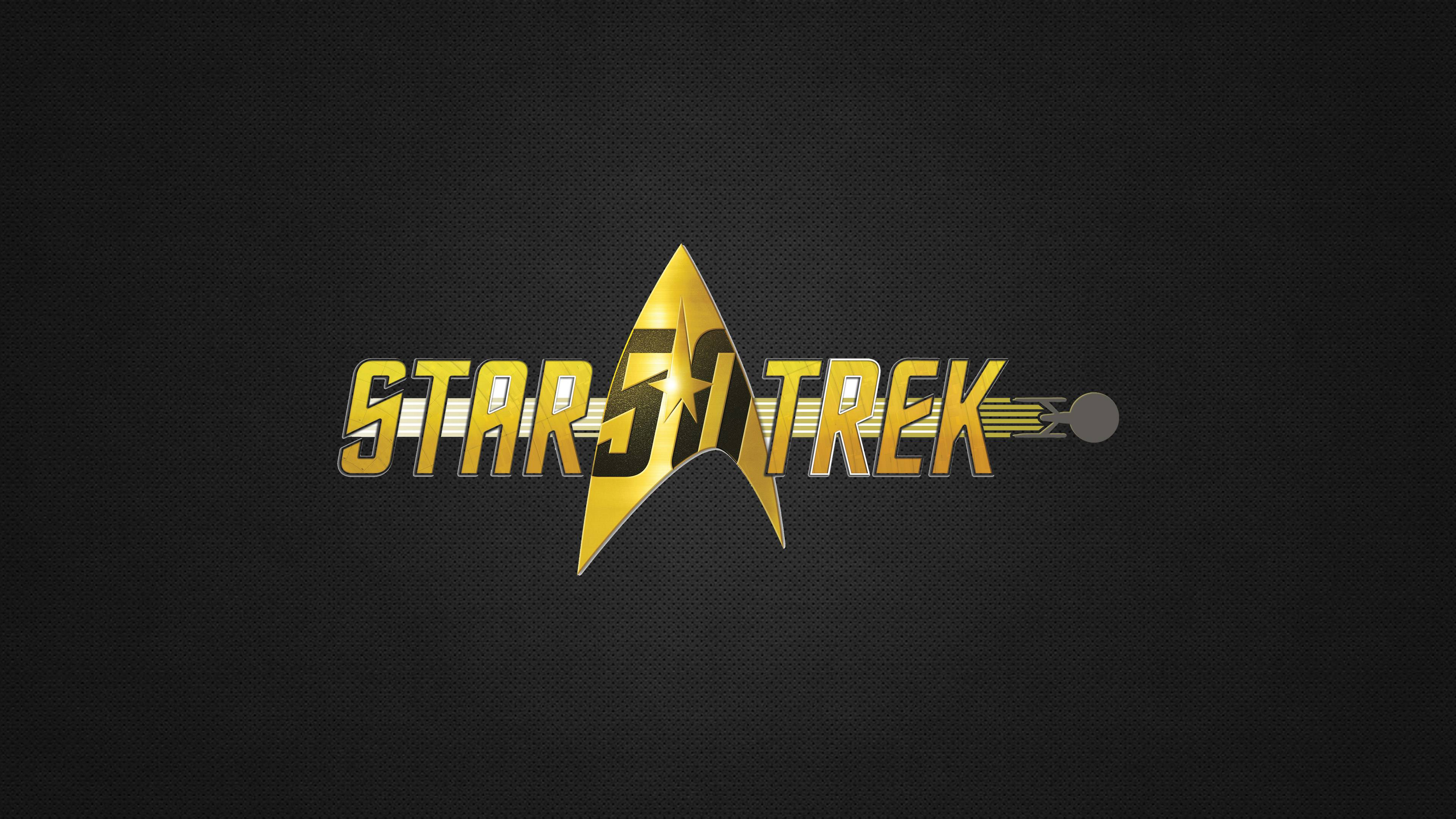 2048x1152 star trek 50th anniversary 2048x1152 resolution - Star trek symbol wallpaper ...