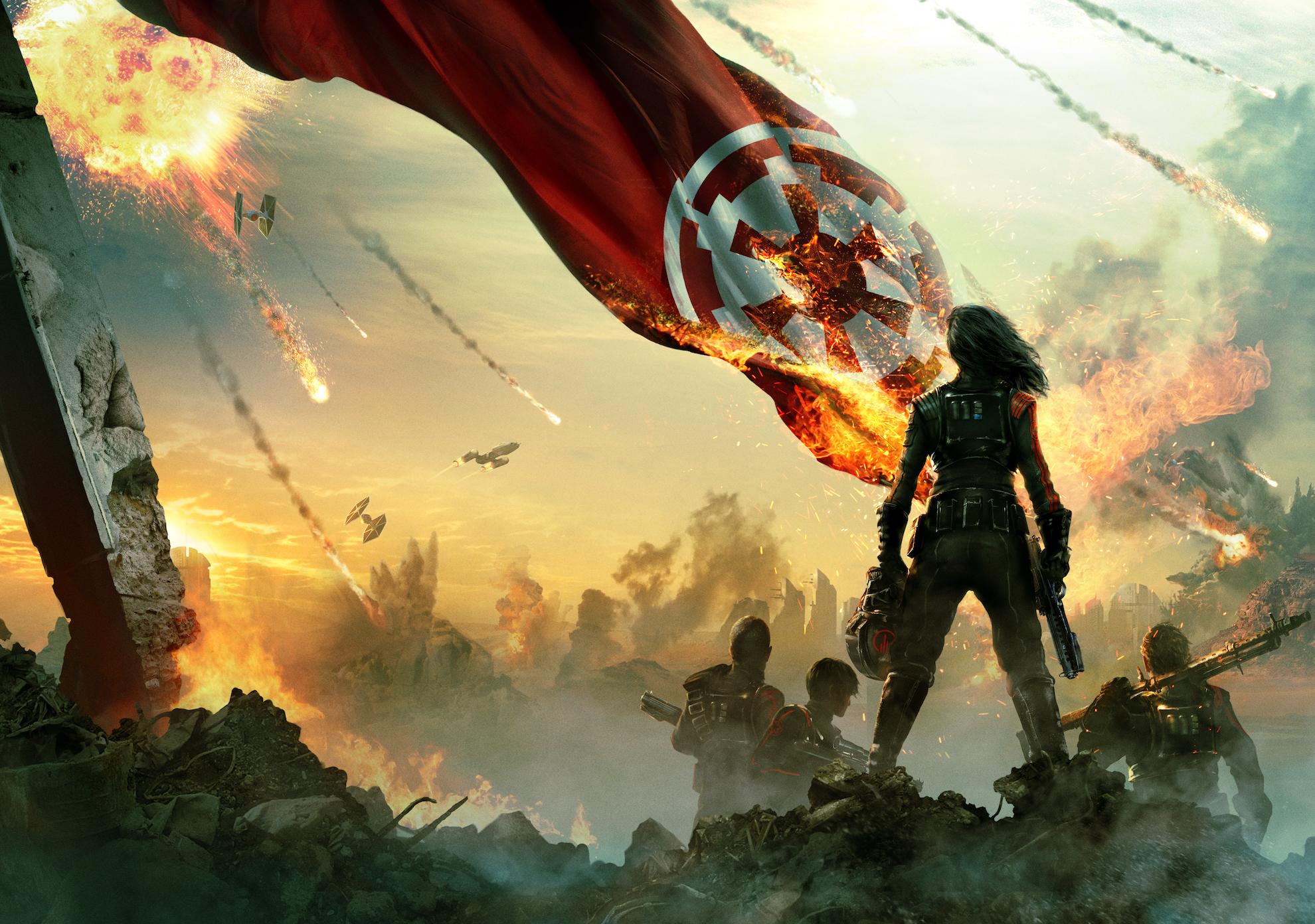 Star Wars Battlefront II Fan Art, HD Games, 4k Wallpapers ...