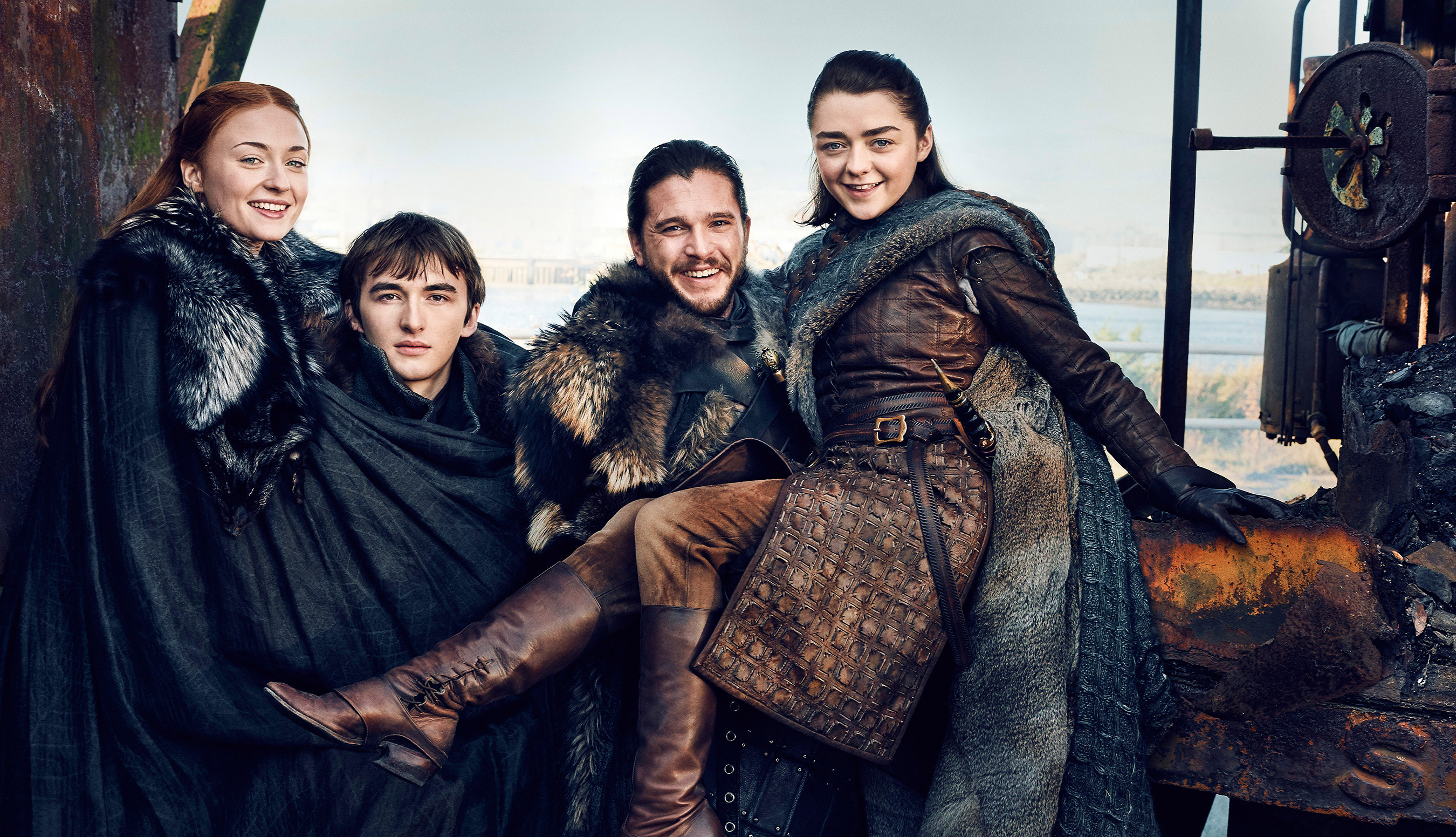 Starks Reunite Game Of Thrones Season 7 HD Tv Shows 4k