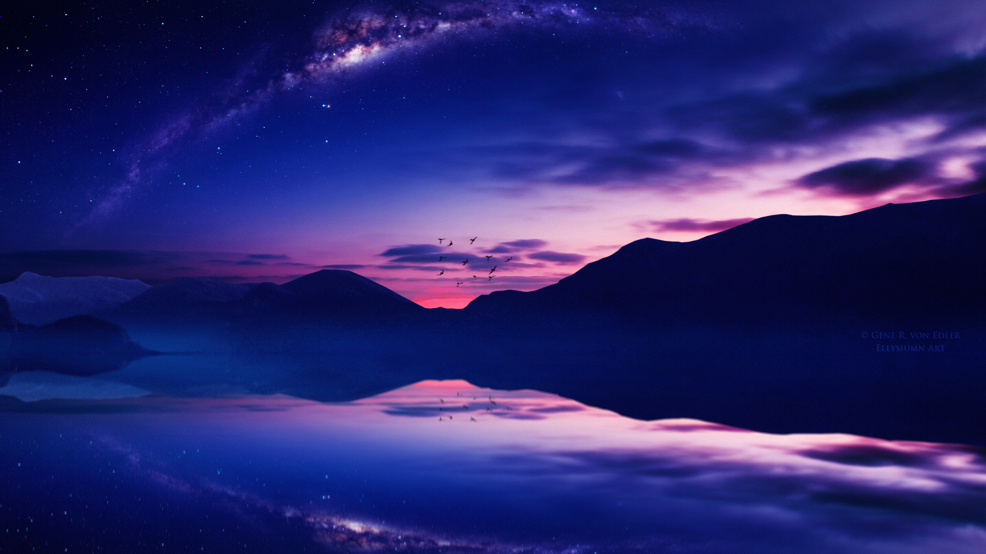 Starry Twilight 4k, HD Photography, 4k Wallpapers, Images ...