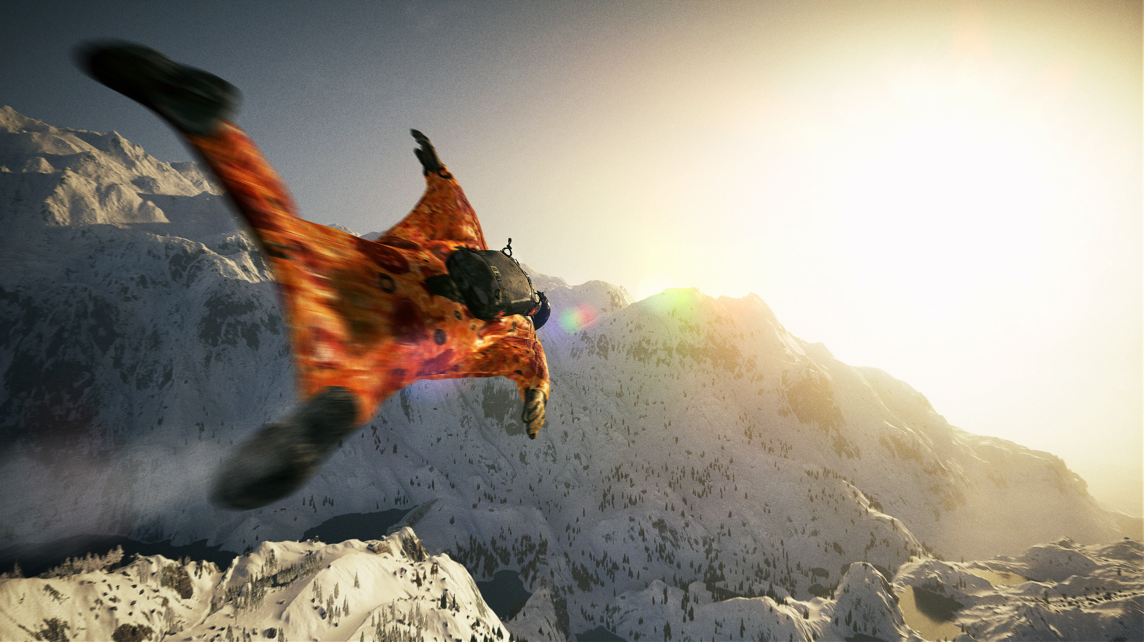 Steep Extreme Sport Game 4k Hd Desktop Wallpaper For 4k: Steep Wing Suit 4k 2017 Game, HD Games, 4k Wallpapers