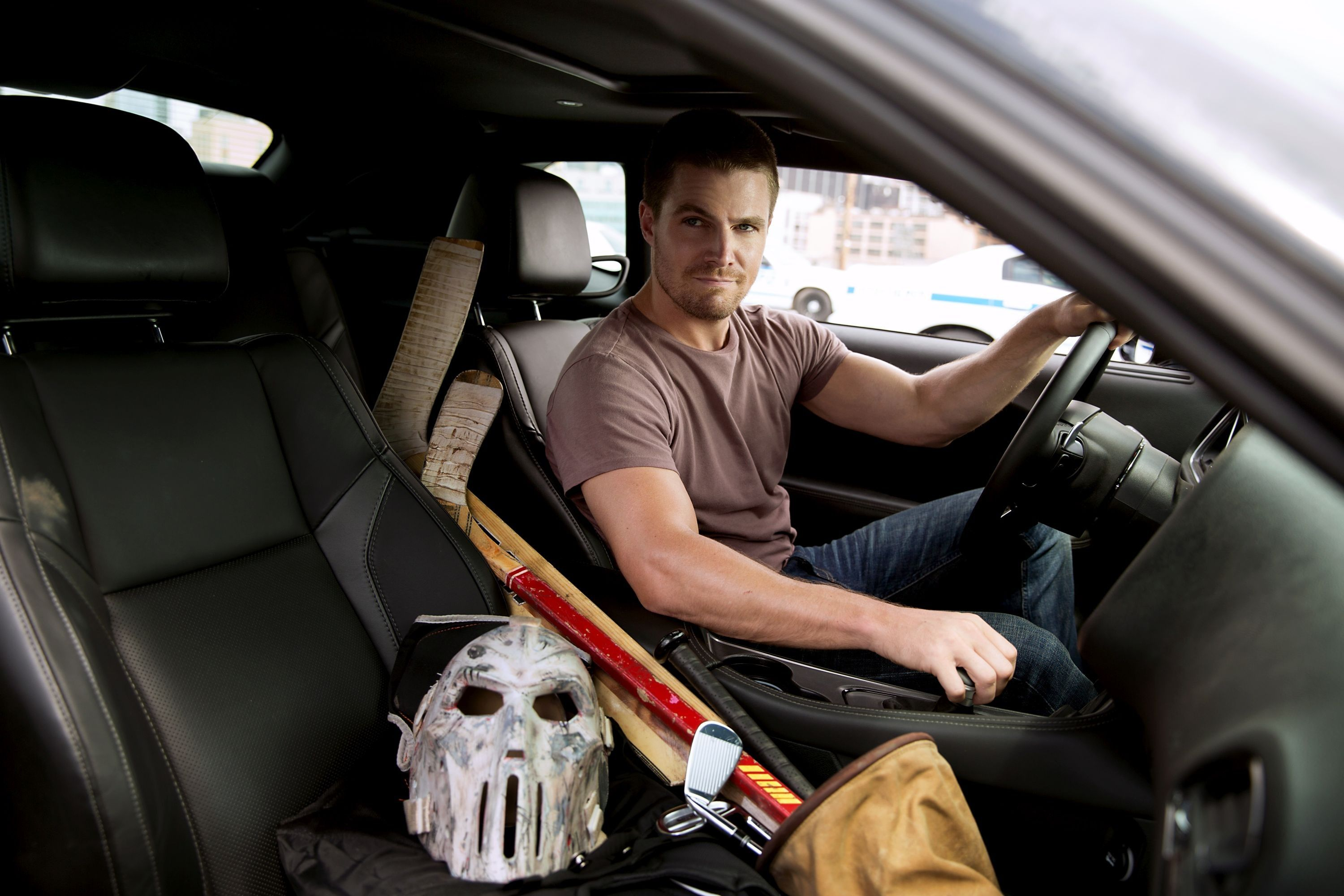 Stephen Amell In TMNT 2