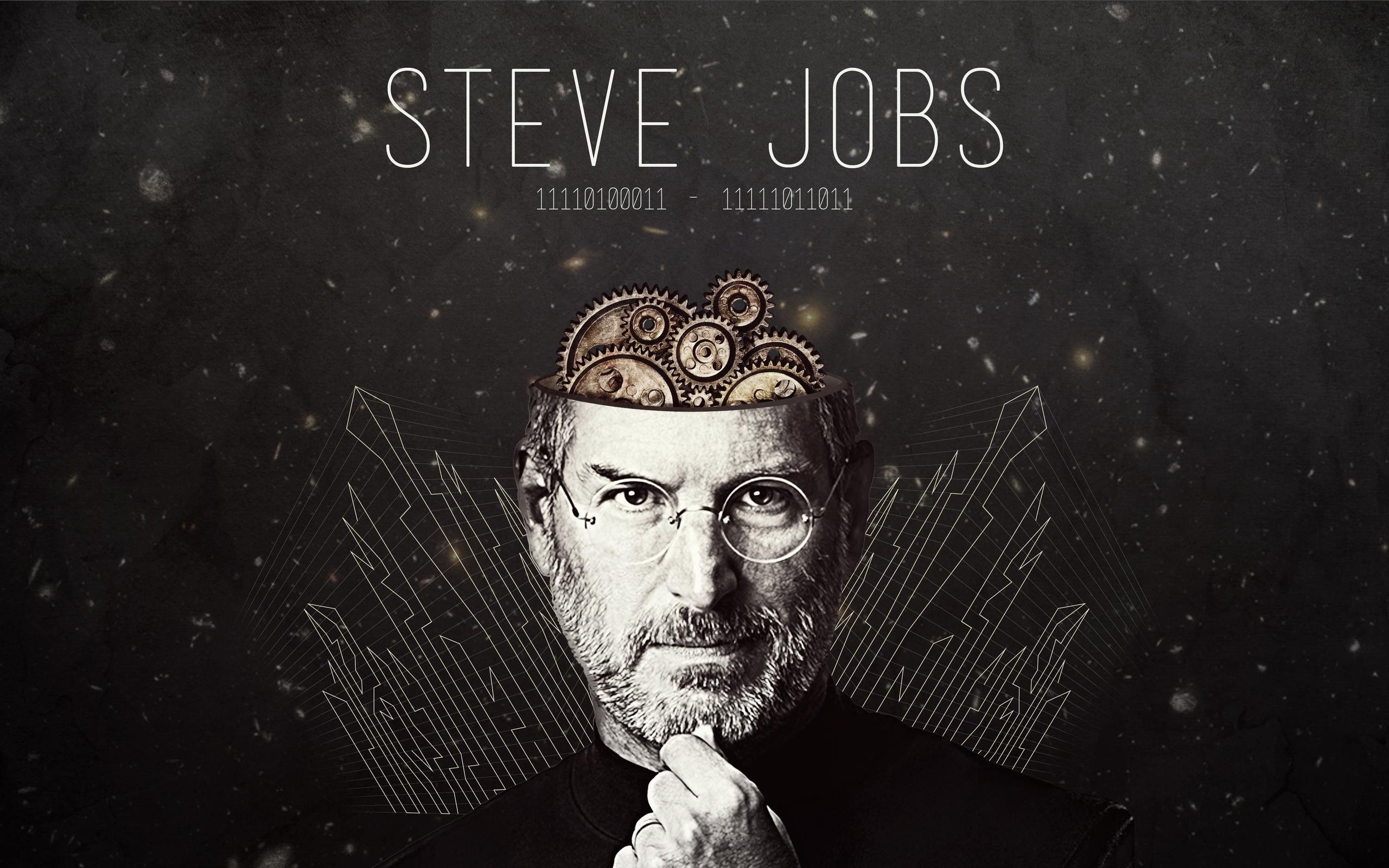 Steve jobs hd typography 4k wallpapers images - Steve jobs wallpaper download ...