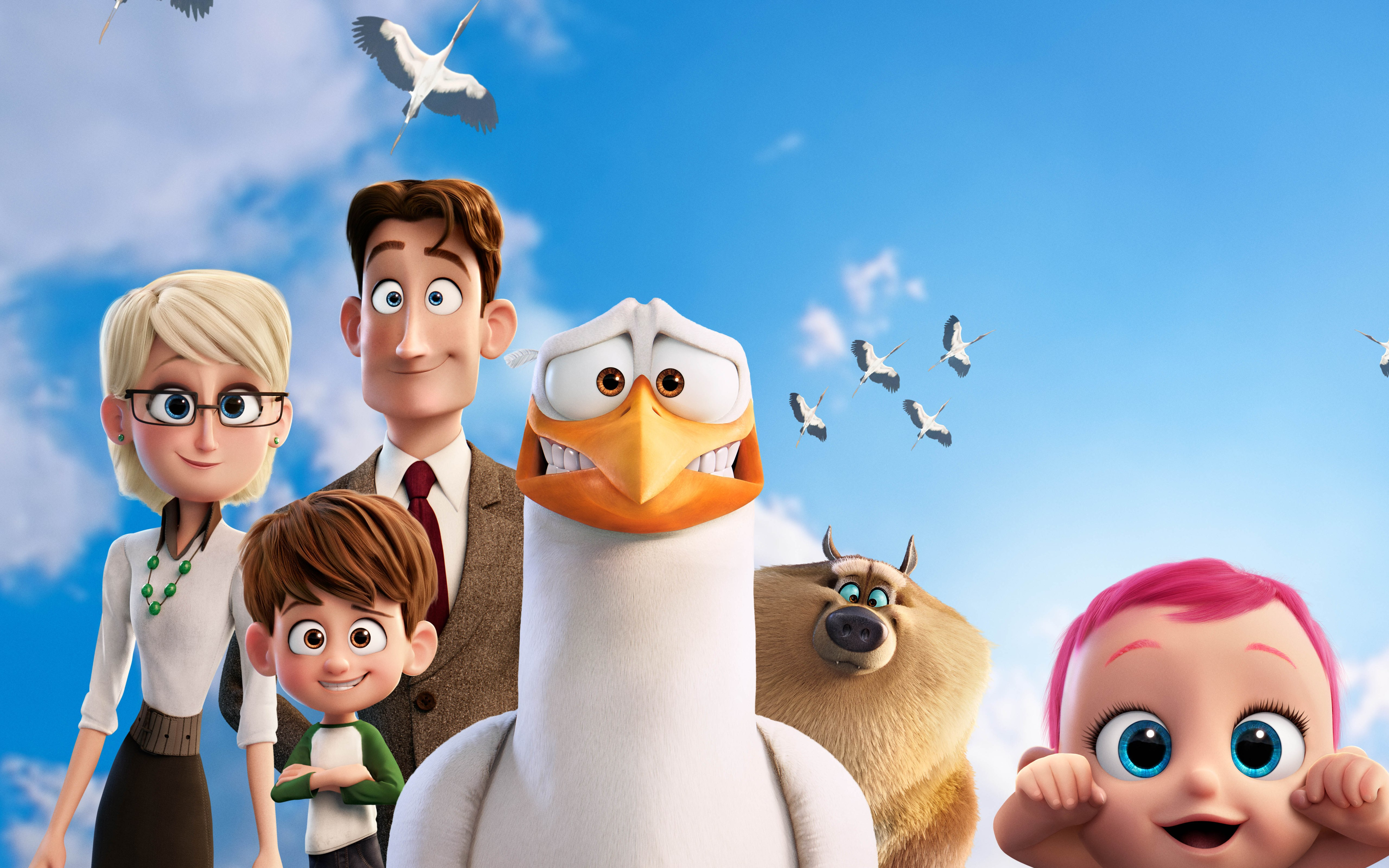 Storks Animated Movie 5k