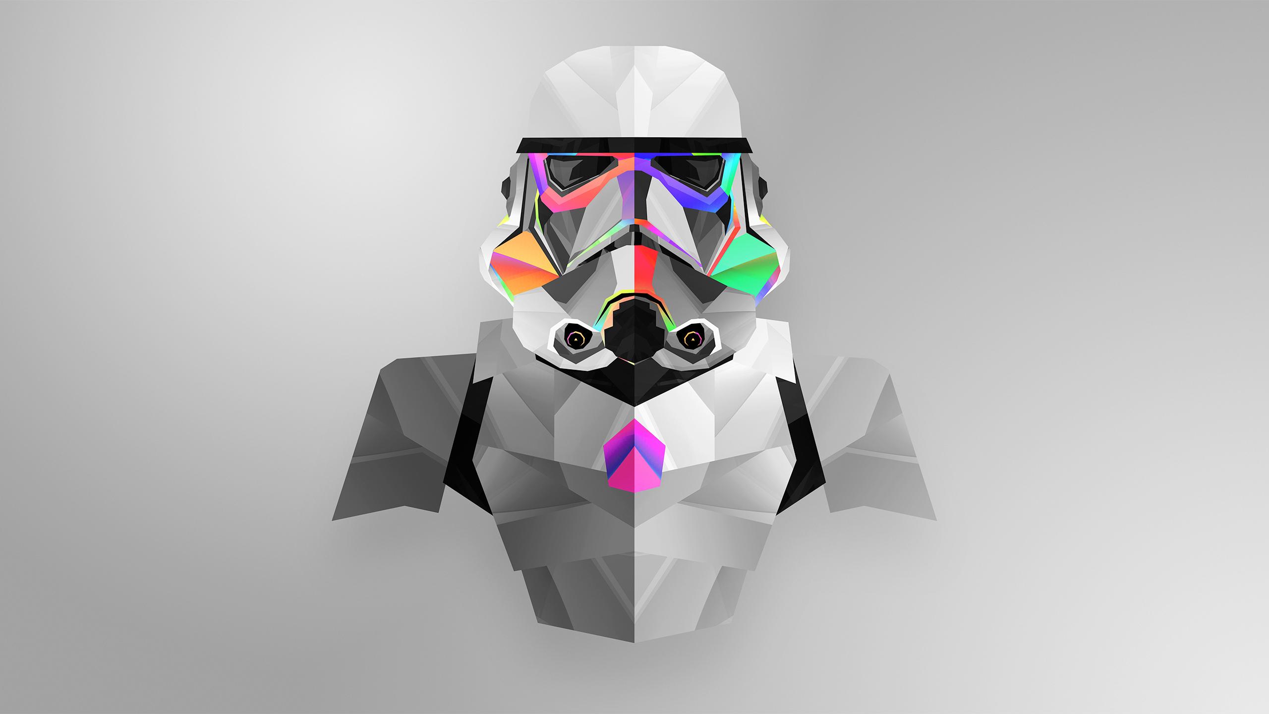 Stormtrooper Abstract Art