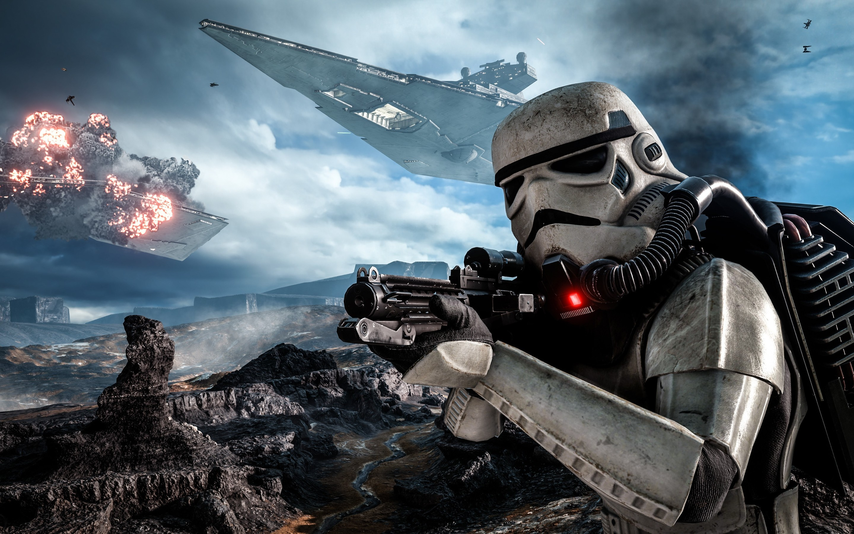 640x960 stormtroopers star wars battlefront iphone 4, iphone 4s hd