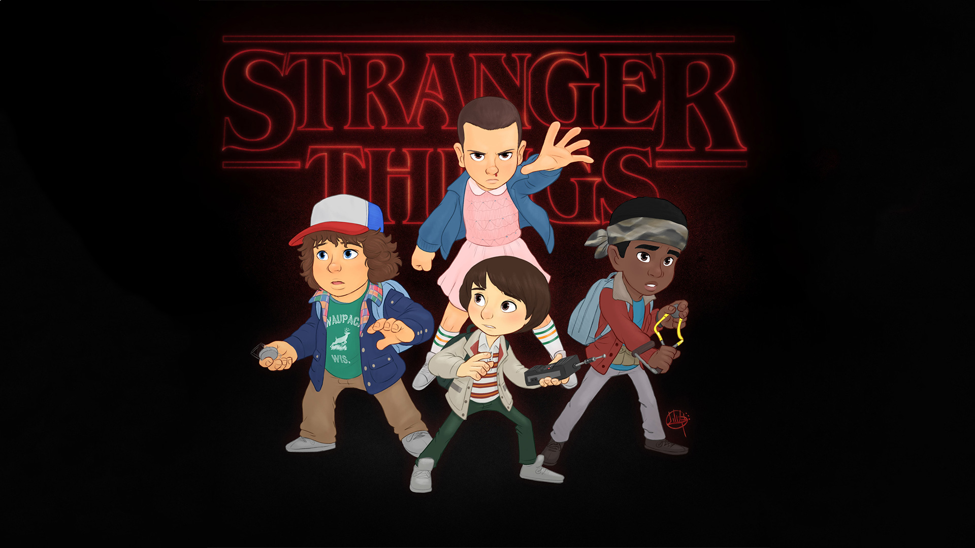 Stranger Things Fanart, HD Tv Shows, 4k Wallpapers, Images, Backgrounds, Photos and Pictures