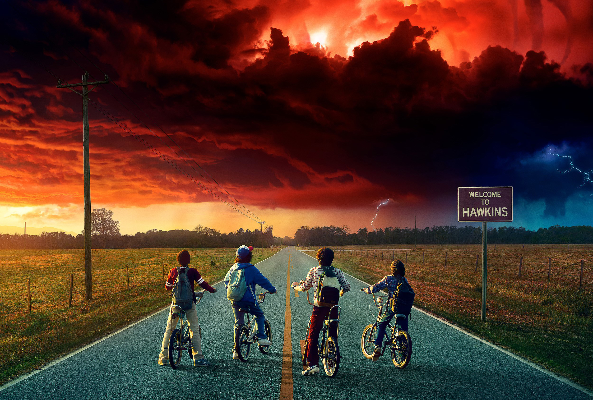 Stranger things season 2 hd tv shows 4k wallpapers images stranger things season 2 voltagebd Choice Image
