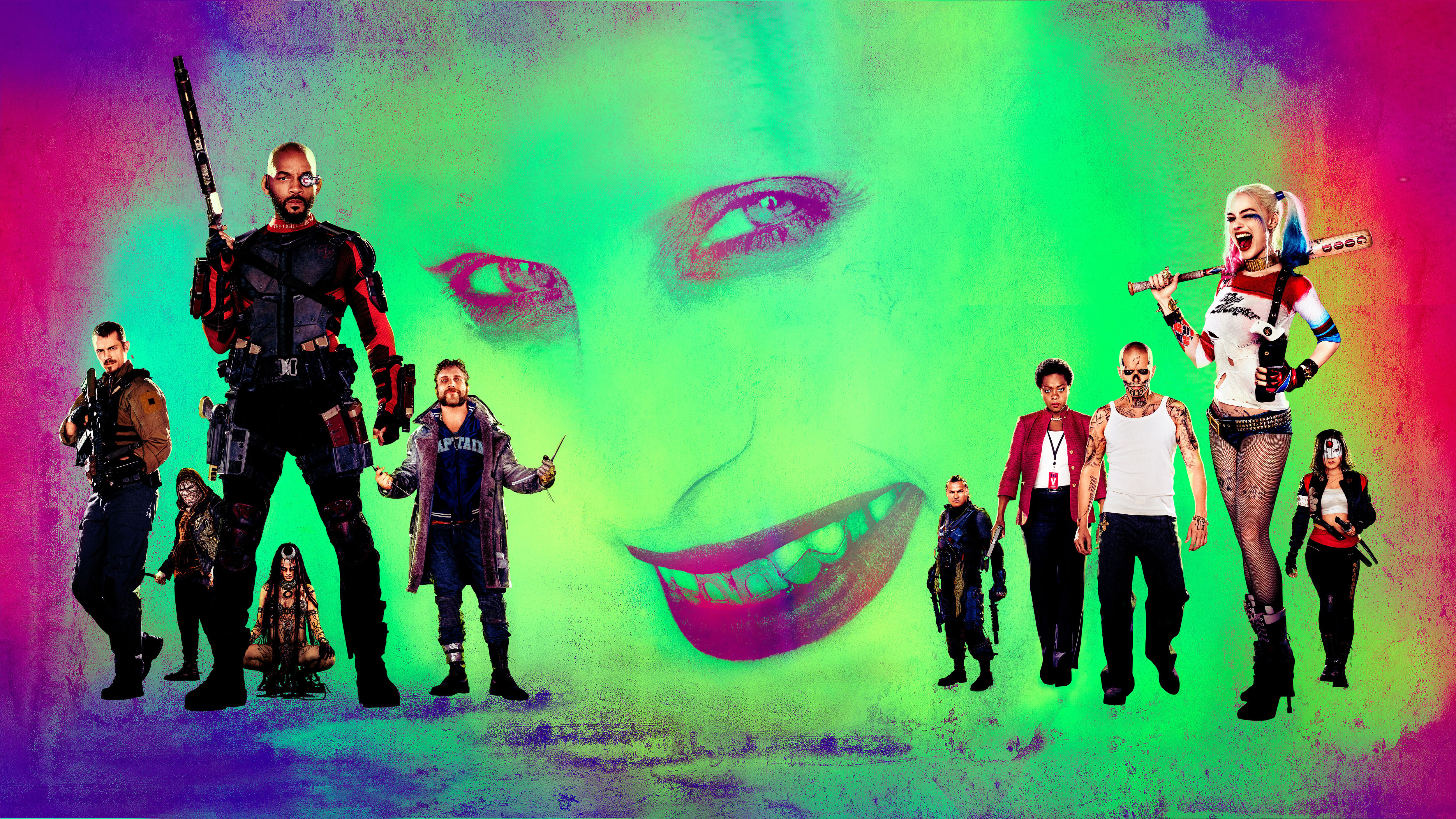 Suicide Squad 4k 5k Hd Movies 4k Wallpapers Images