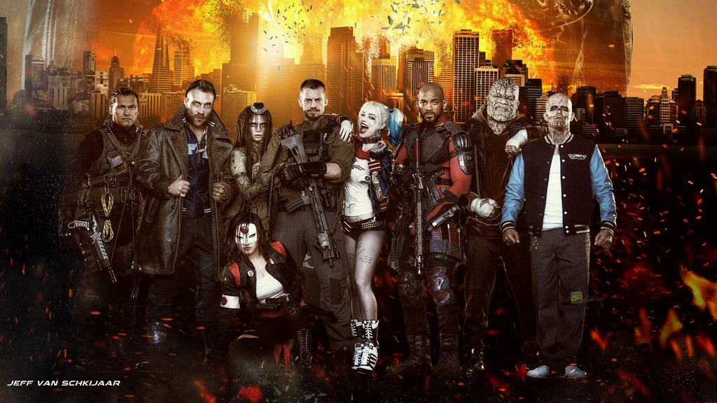suicide squad wide wallpapers - photo #30