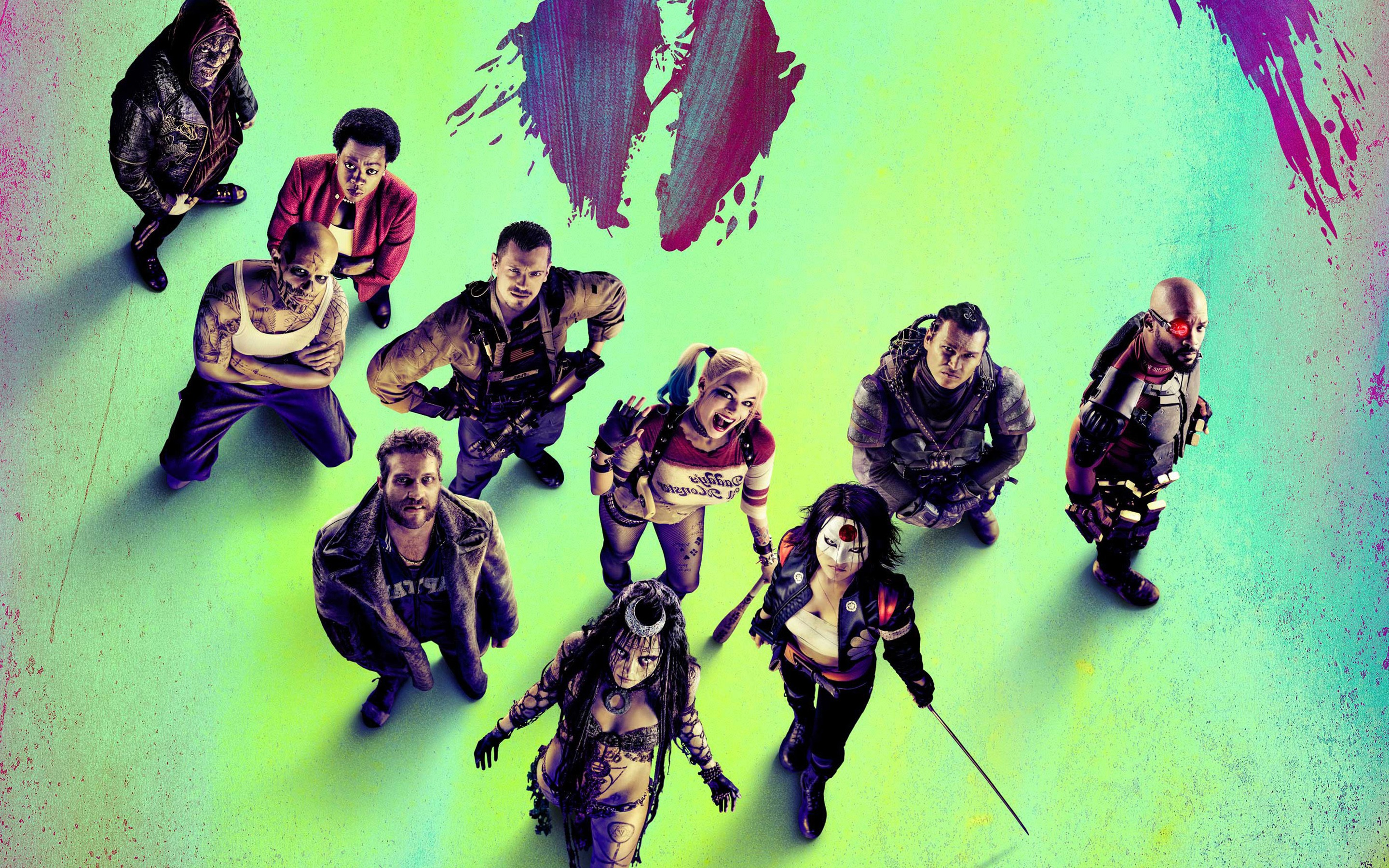 suicide squad wide wallpapers - photo #35