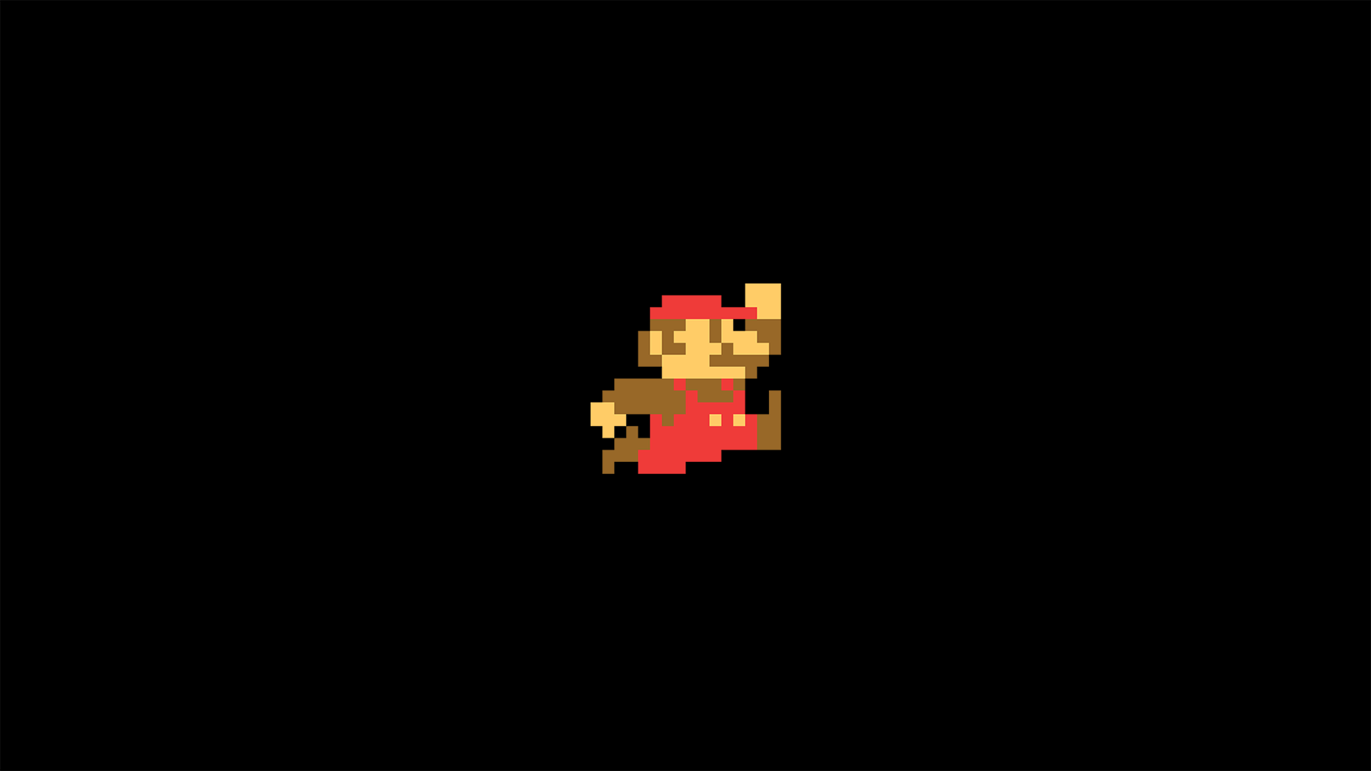 super mario minimalism, hd cartoons, 4k wallpapers, images