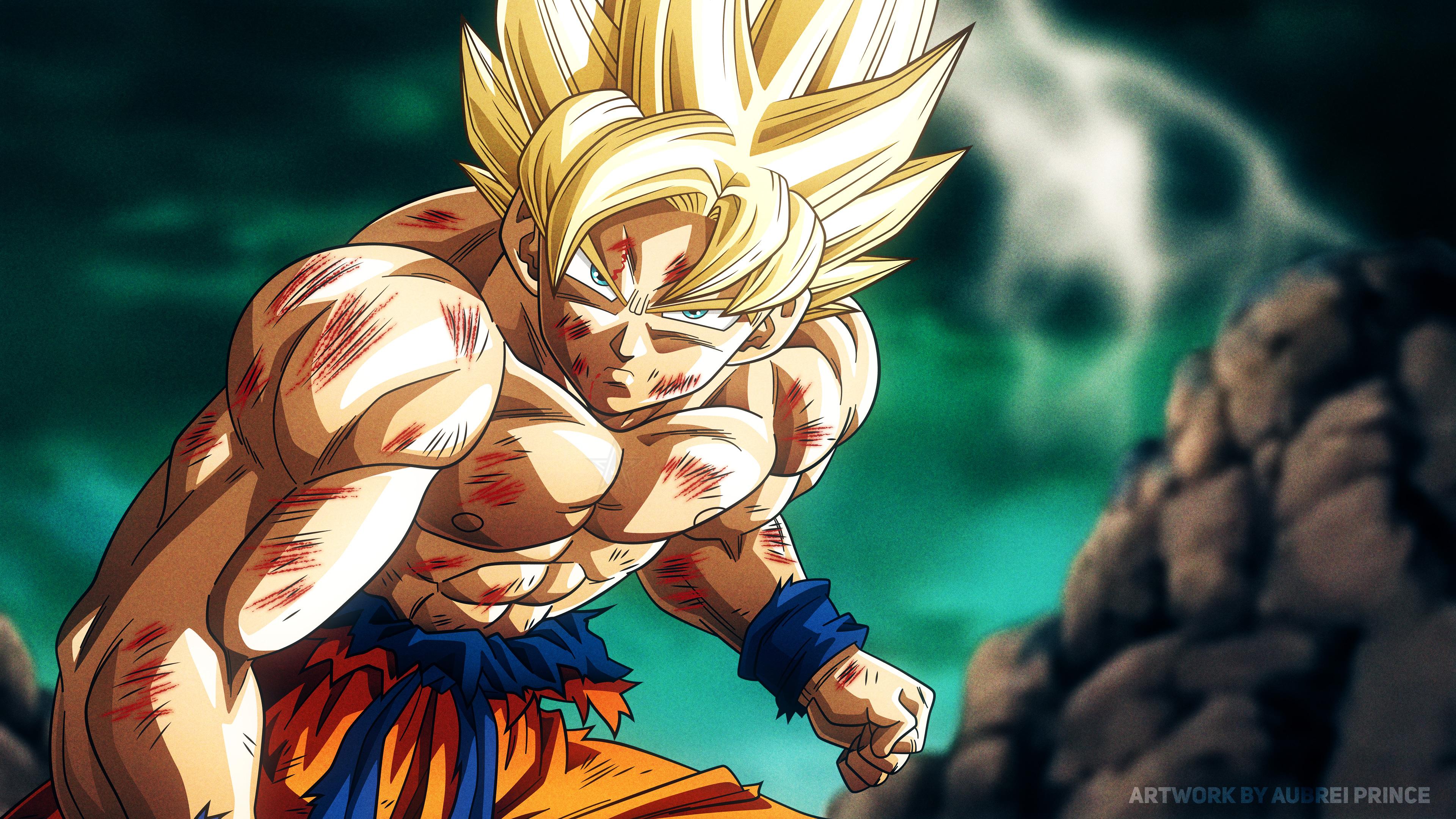 Super Saiyan Son Goku Dragon Ball Z 4k, HD Anime, 4k Wallpapers, Images, Backgrounds, Photos and ...