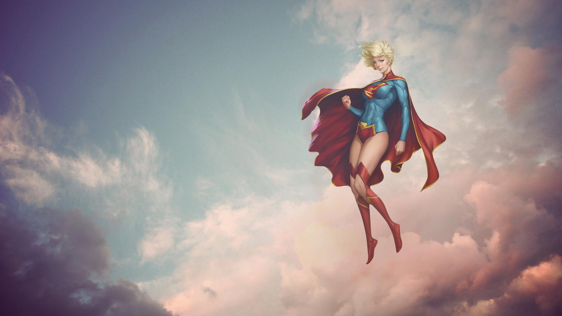Simple Wallpaper Logo Supergirl - supergirl-fantasy-art-jc  2018_341084.jpg
