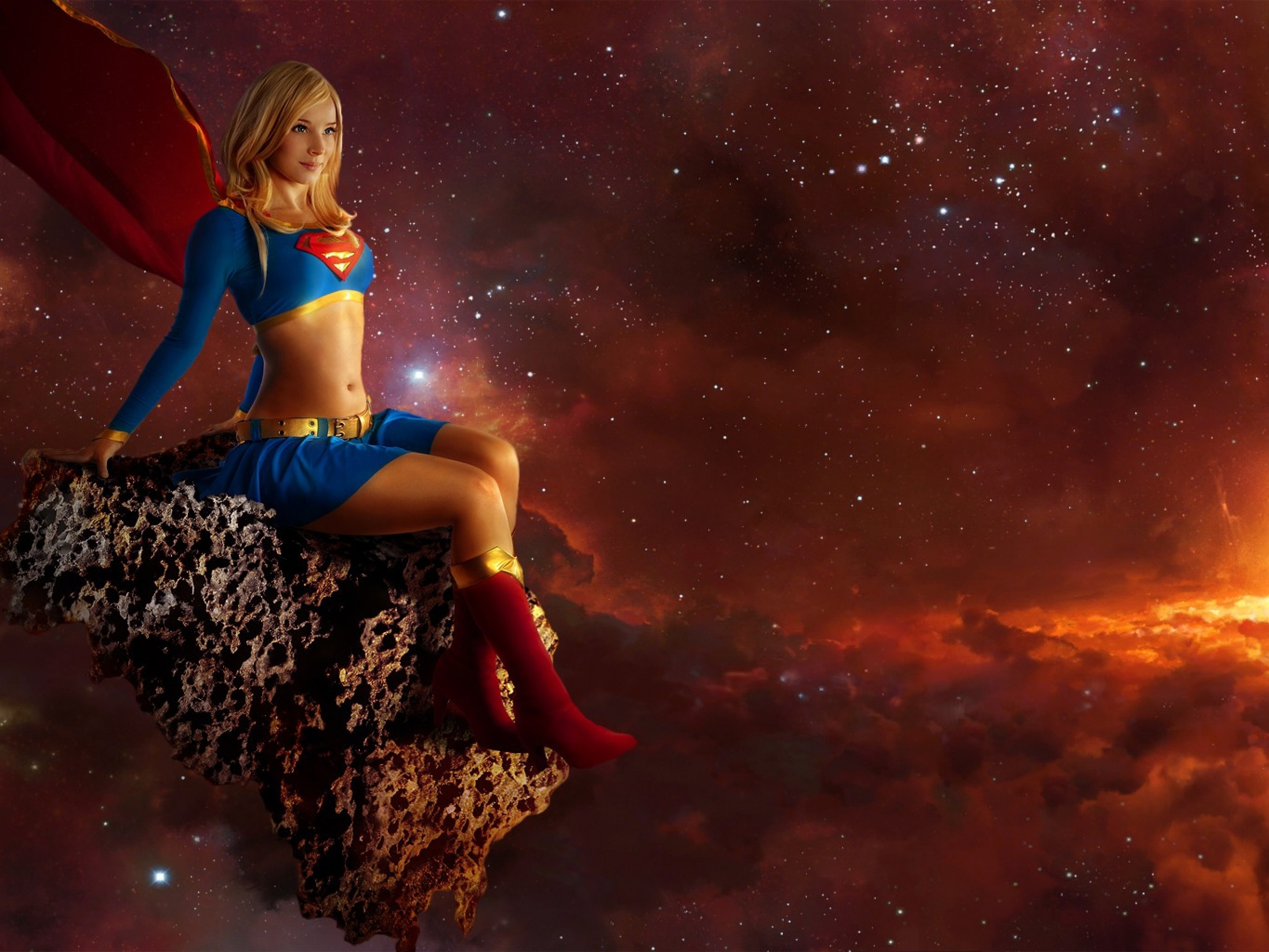 Wallpaper Supergirl, Season 2, HD, TV Series, #2688
