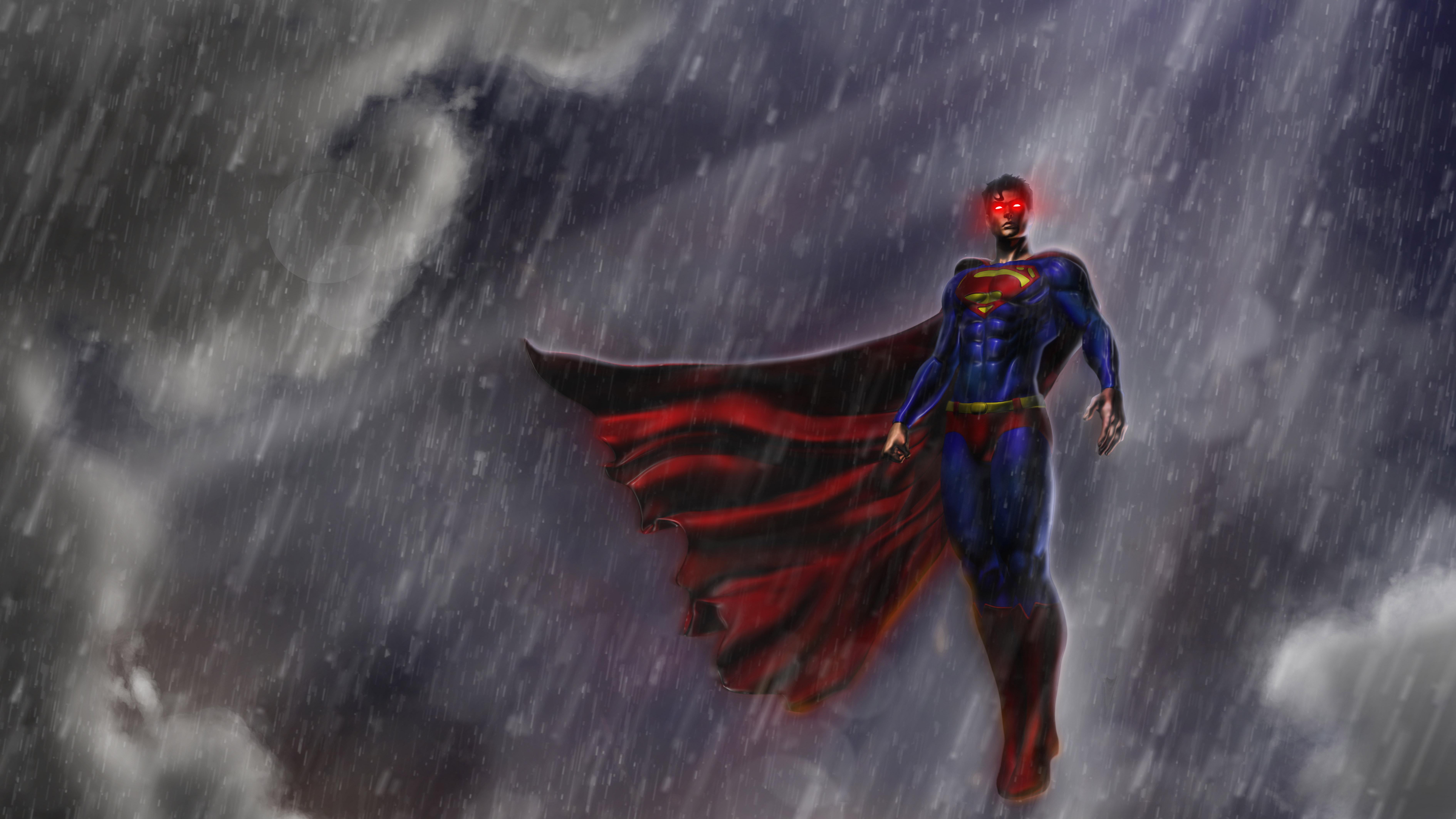 Superman justice league artwork 8k hd superheroes 4k - 8k desktop backgrounds ...