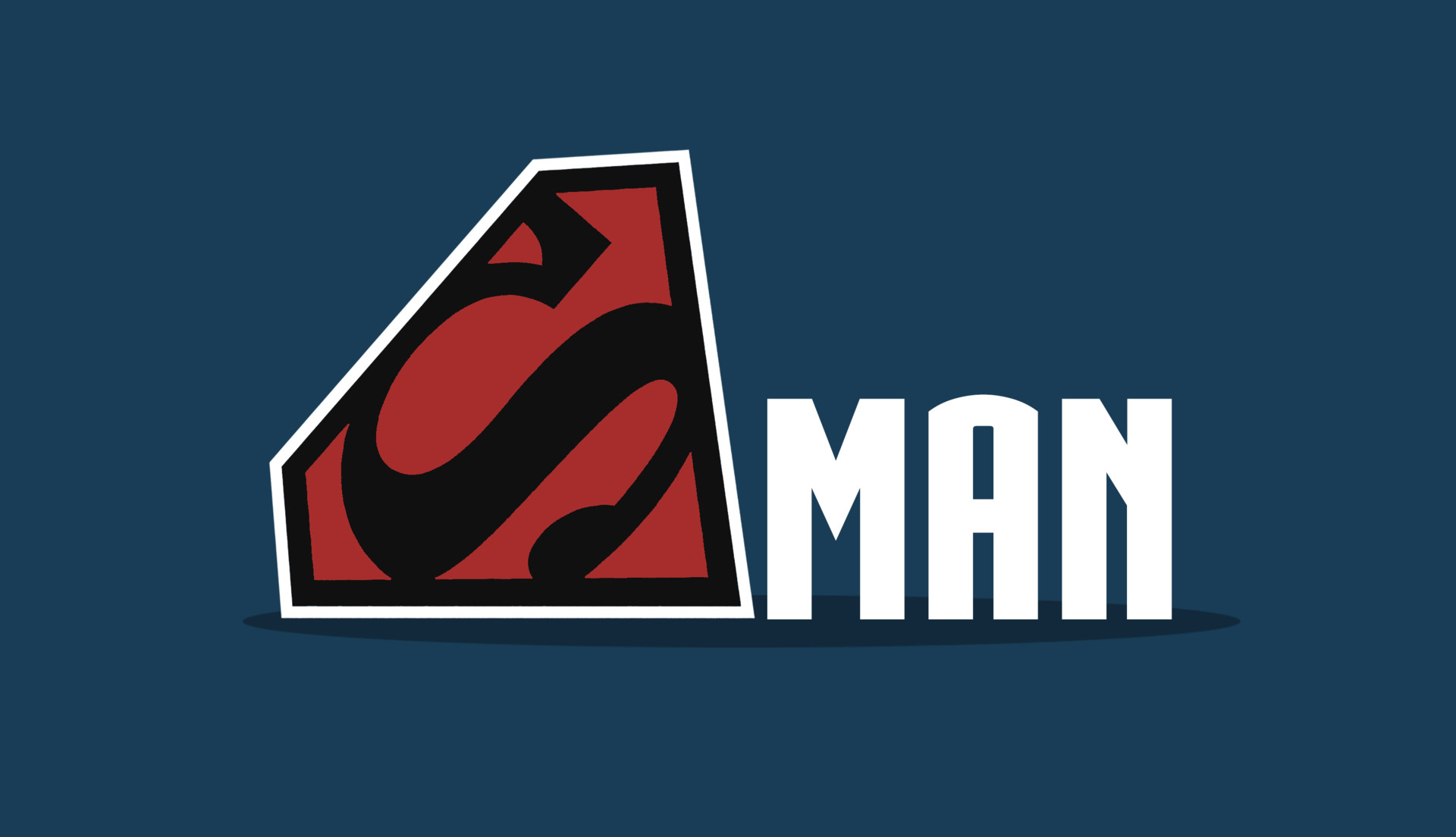 Superman Logo Minimalism HD Superheroes 4k Wallpapers Images